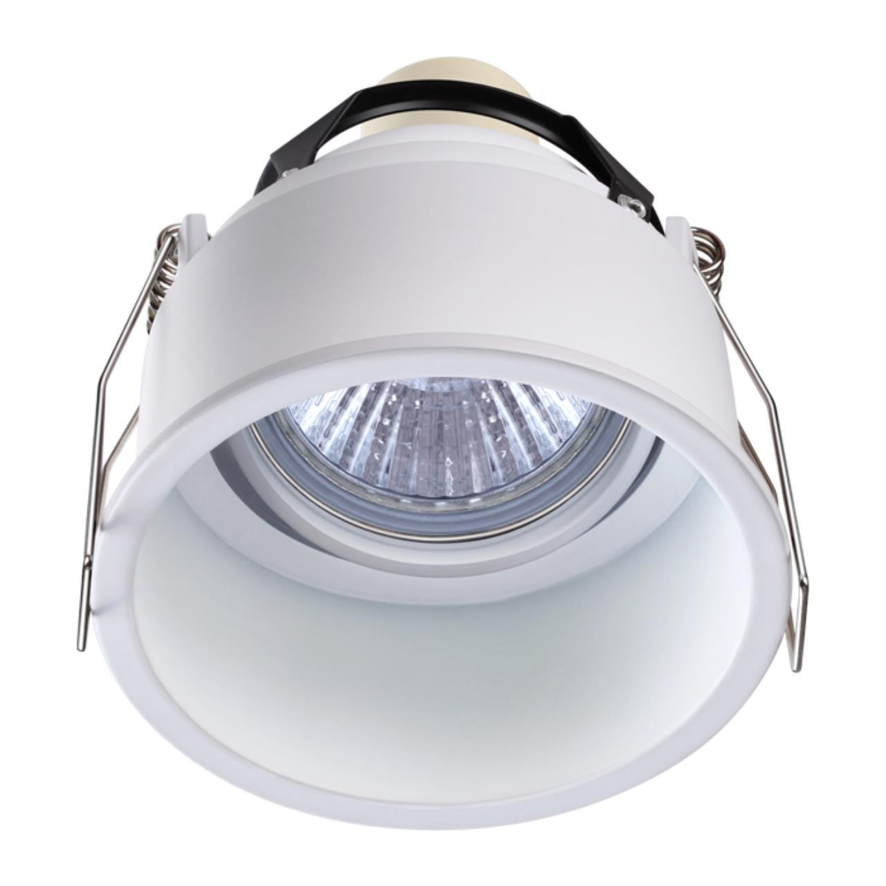 370563 SPOT NT19 130 белый Встраиваемый светильник IP20 GU10 50W 220-240V CLOUD