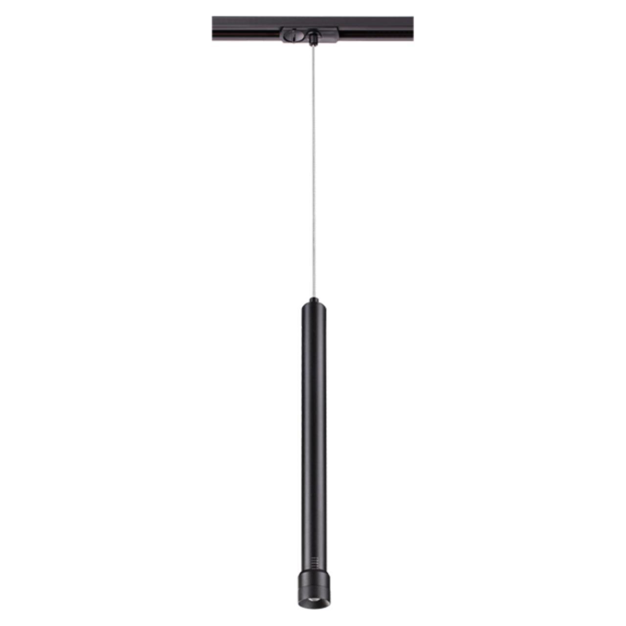 357981 PORT NT19 046 черный Трековый светильник IP20 LED 7W 3000К 220V EDDY