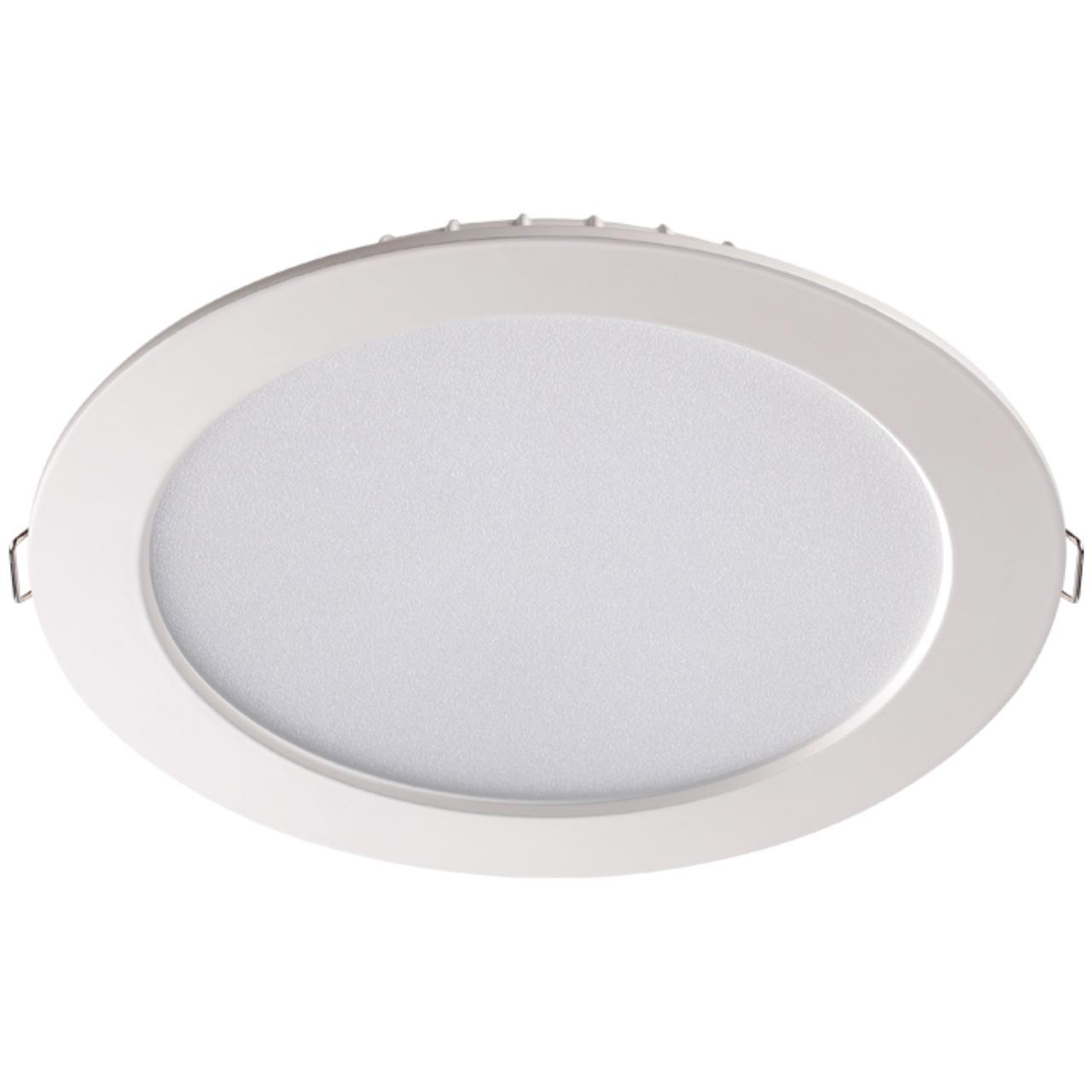 358031 SPOT NT19 079 белый Встраиваемый светильник IP20 LED 4100К 20W 220V LUNA