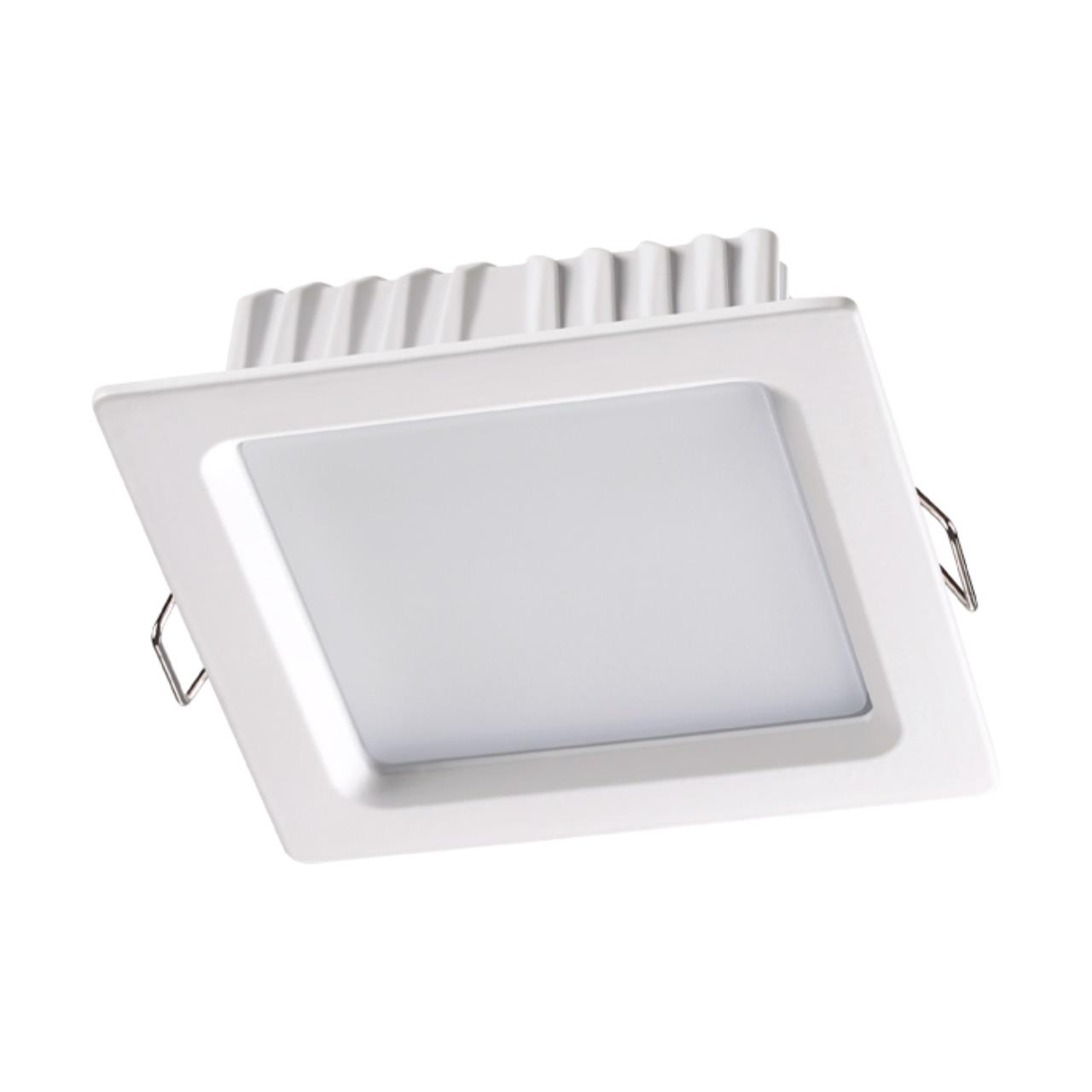 358032 SPOT NT19 079 белый Встраиваемый светильник IP20 LED 4100К 7W 220V LUNA