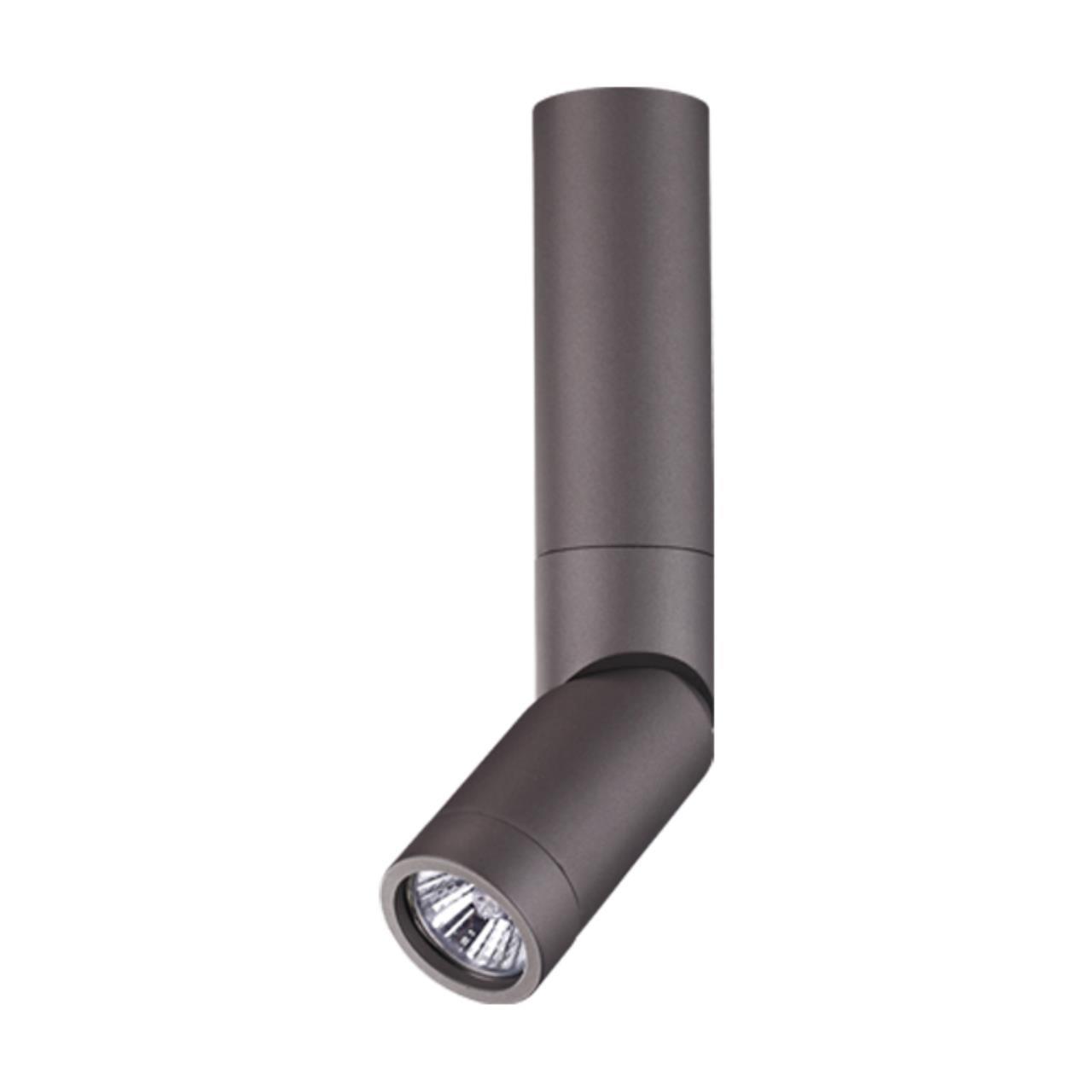 370592 OVER NT19 097 серебристый черный Накладной светильник IP20 GU10 50W 220-240V ELITE