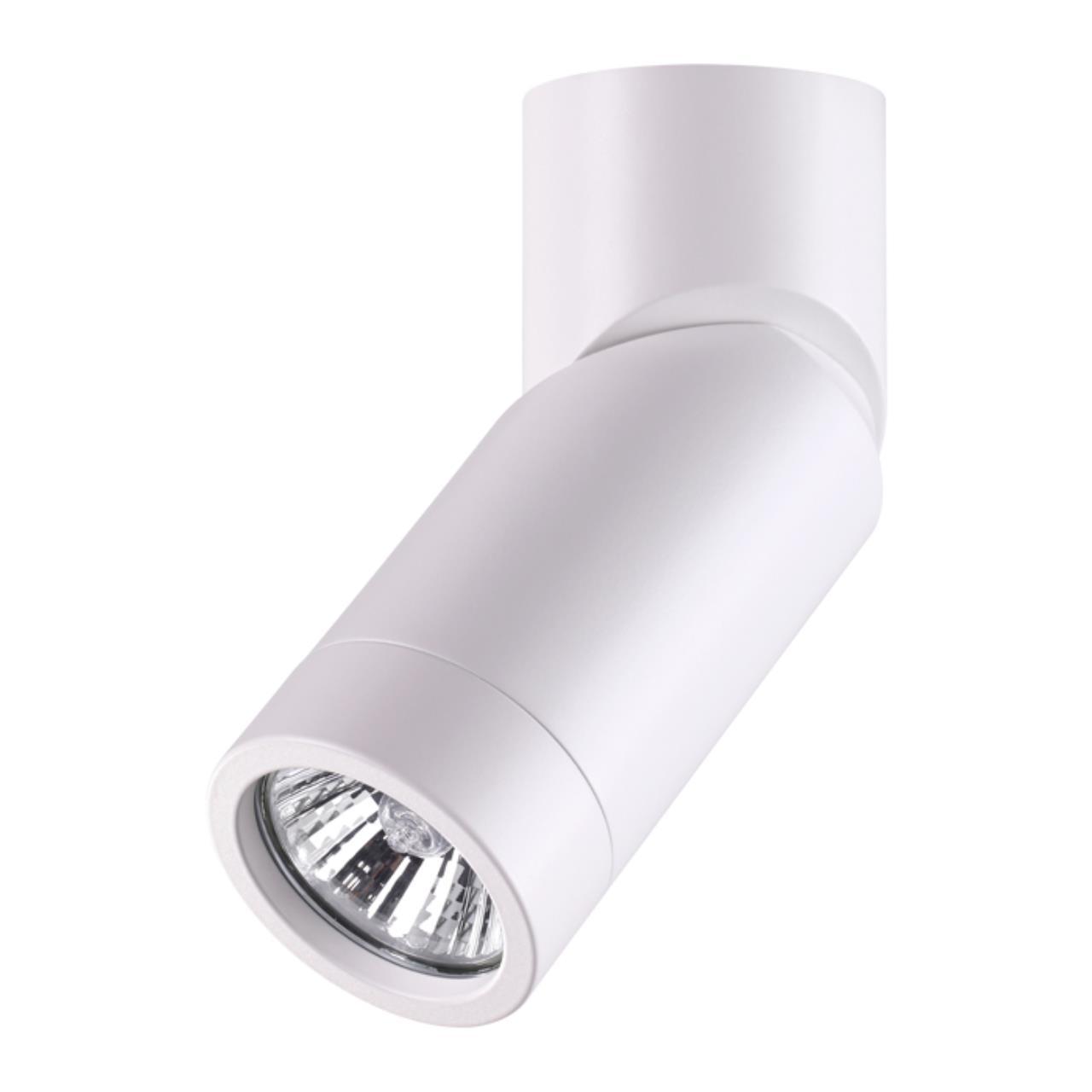 370595 OVER NT19 097 матовый белый Накладной светильник IP20 GU10 50W 220-240V ELITE