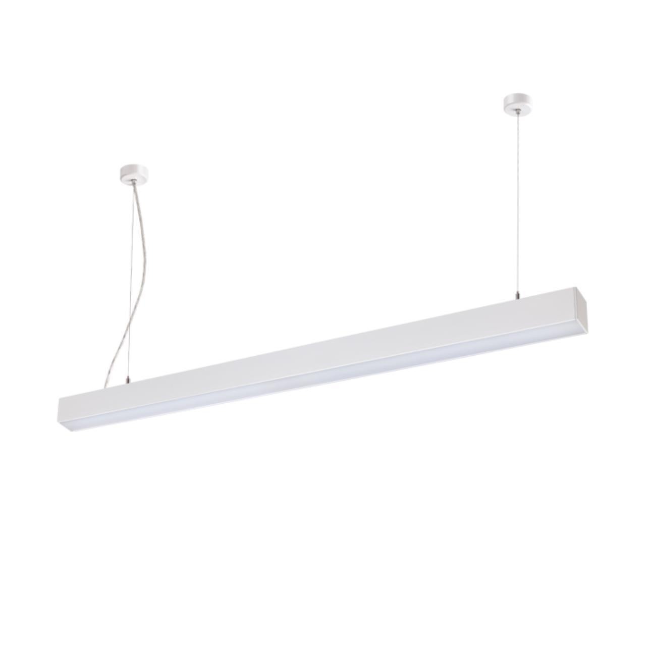 358052 OVER NT19 053 белый Накладной/подвесной светильник IP20 LED 4000К 20W 220V ITER