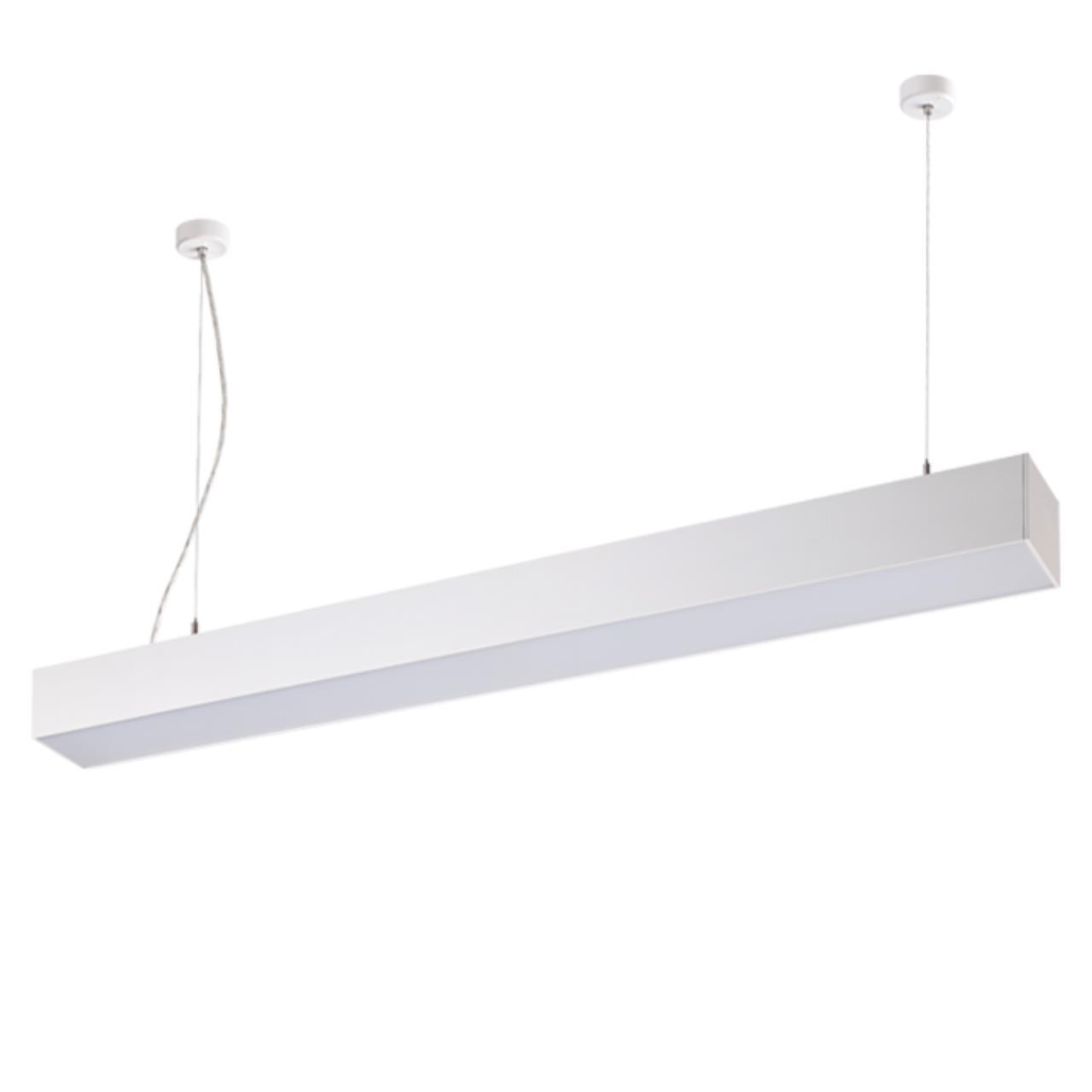 358055 OVER NT19 053 белый Подвесной светильник IP20 LED 4000К вверх 20W + вниз 30W 220V ITER