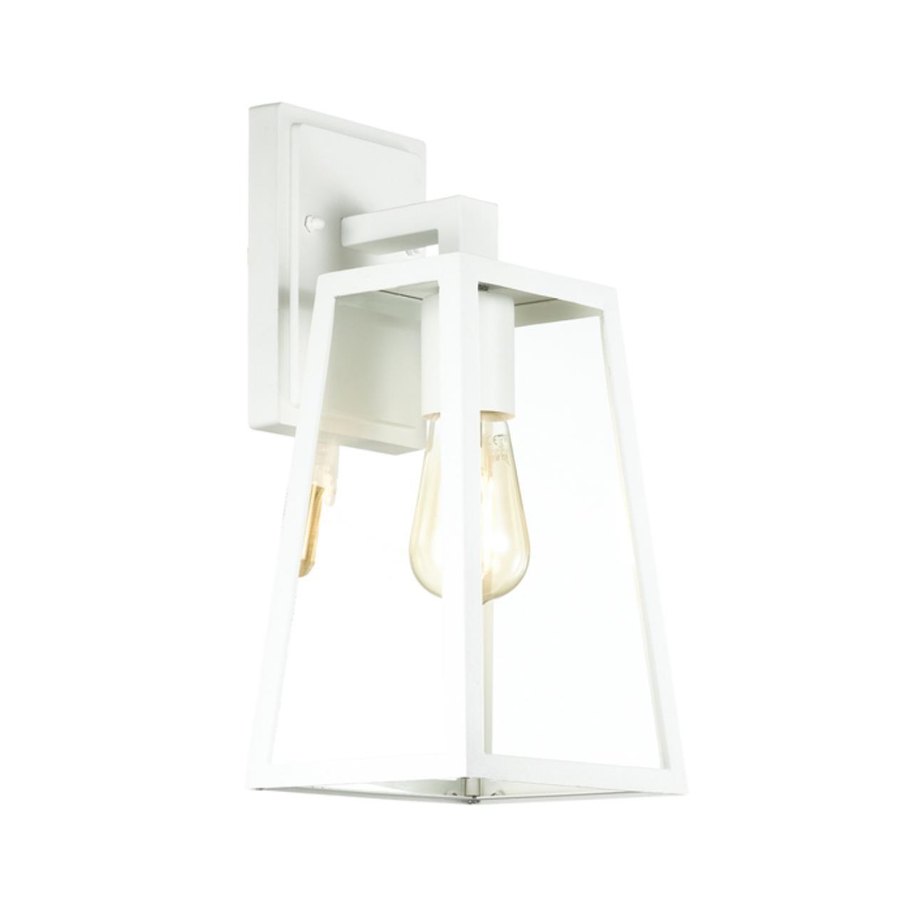 4170/1W NATURE ODL19 693 белый/прозрачный Уличный настенный светильник IP43 E27 1*60W CLOD