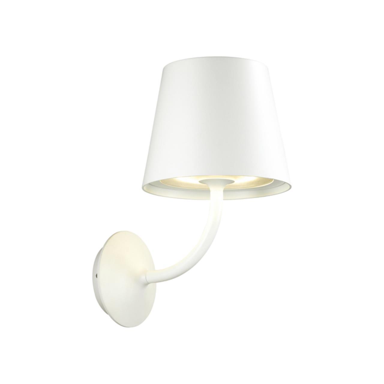 4609/7WL L-VISION ODL19 690 белый Уличный настенный светильник IP65 LED 7W ELIN