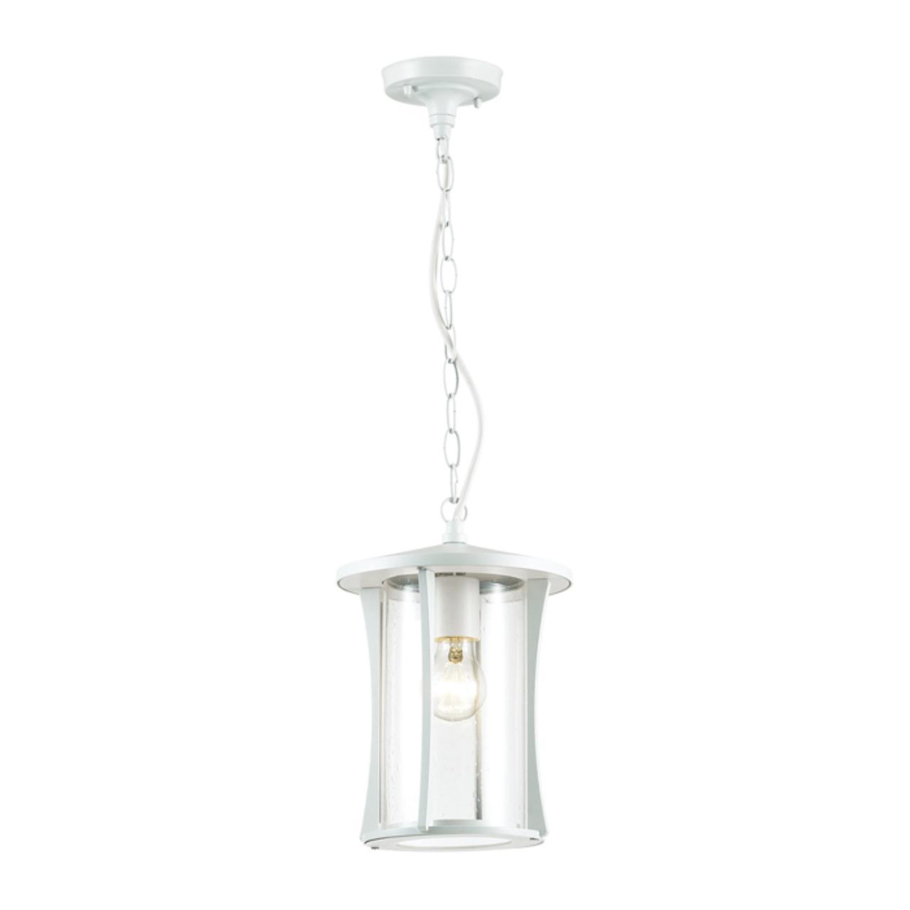 4173/1 NATURE ODL19 698 белый/прозрачный Уличный светильник-подвес IP44 E27 1*40W GALEN