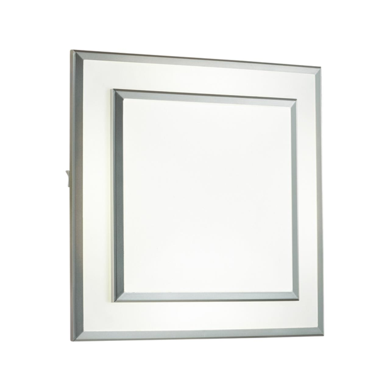 4625/48CL L-VISION ODL19 112 серебристый/белый Потолочный светильник LED 48W BERNAR