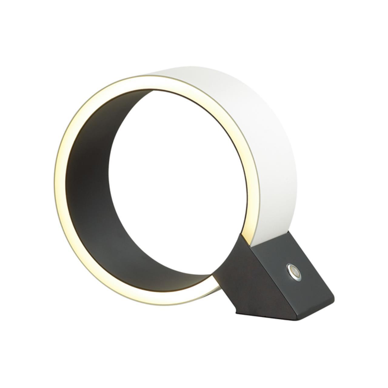 4078/12TL L-VISION ODL19 54 белый/черный Настольная лампа LED 12W TRAM