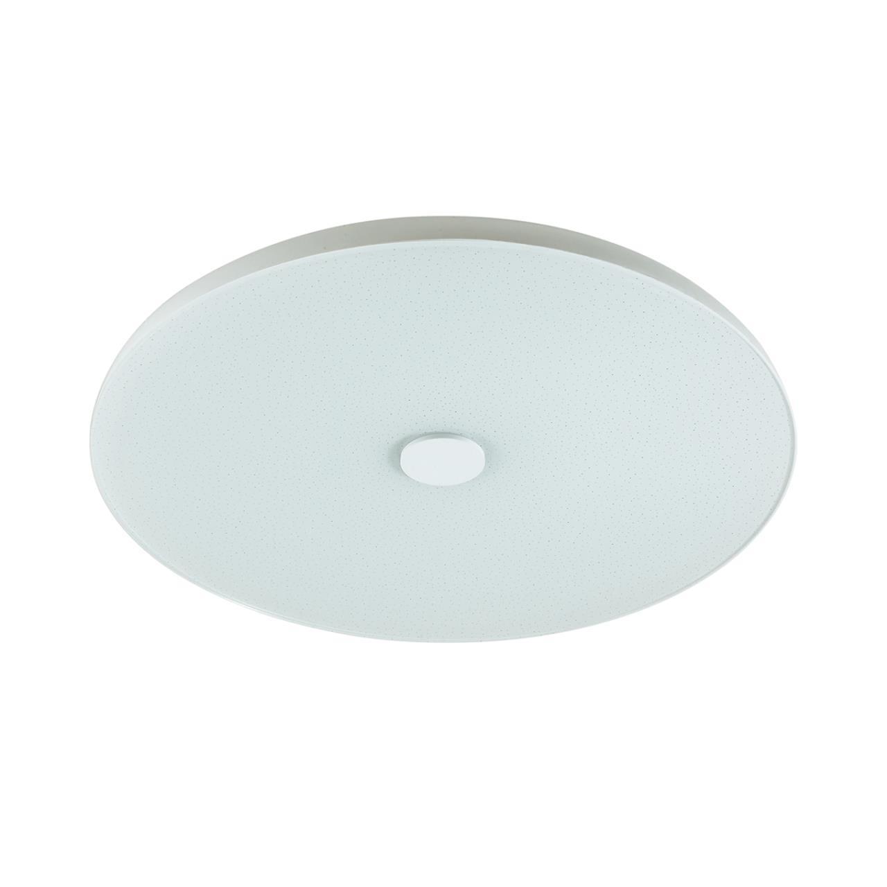 4629/CL VASTA LED SN 032 св-к ROKI muzcolor пластик LED 36Вт 3000-6500К D400 IP20 пульт ДУ/динамики