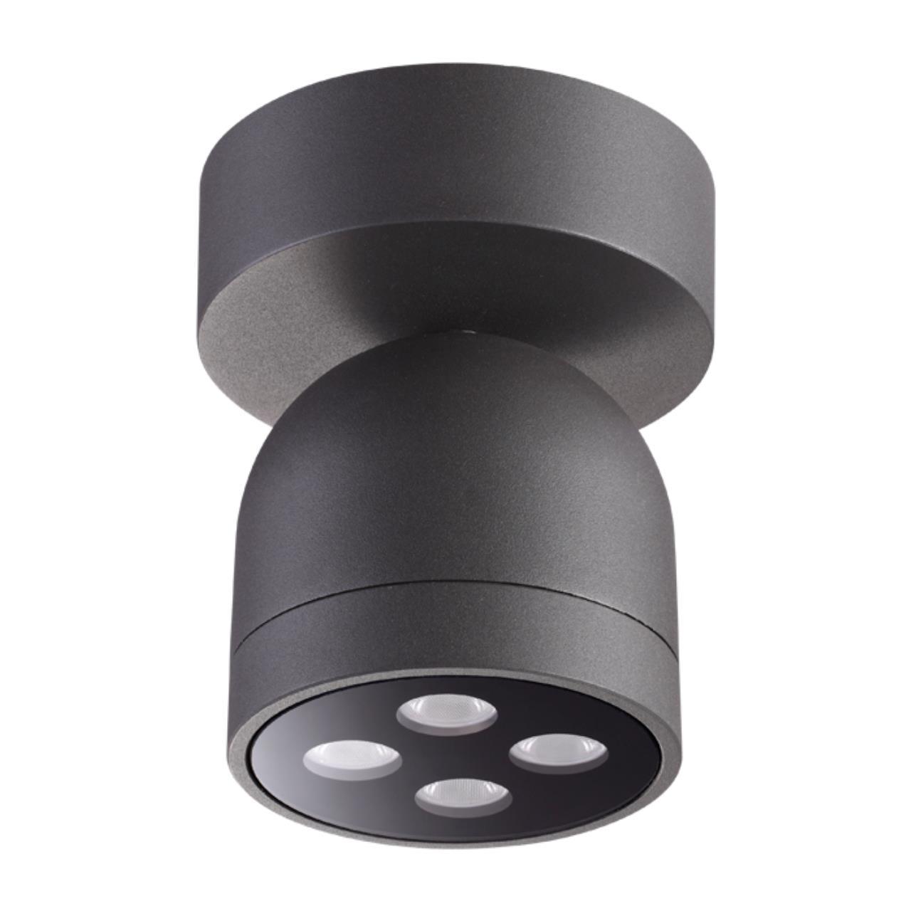 358118 STREET NT19 149 темно-серый  Ландшафтный светильник IP65 LED 3000К 10W 100-240V GALEATI