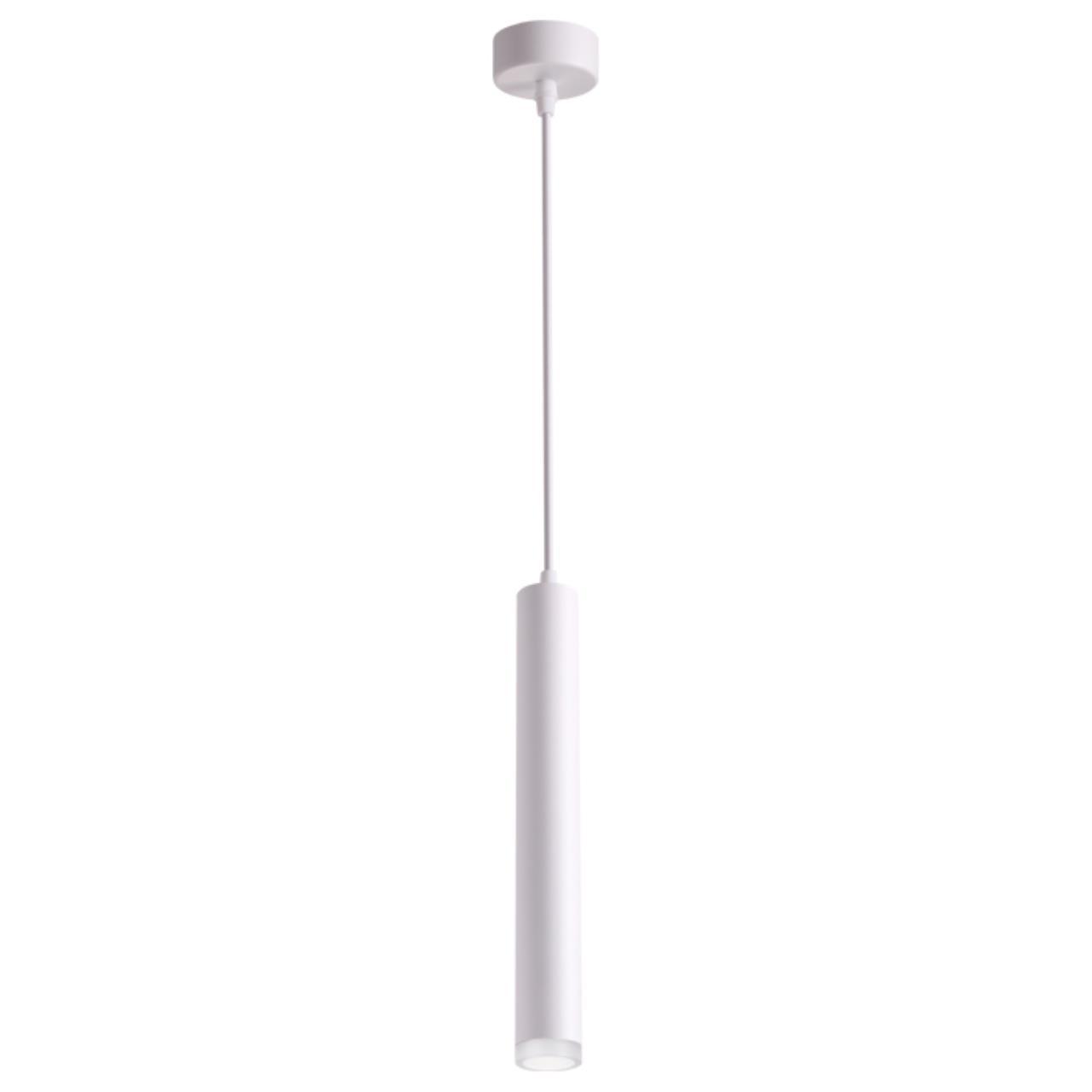 358129 OVER NT19 069 белый Накладной светильник, длина провода 1м IP20 LED 3000K 10W 160 - 265V MODO