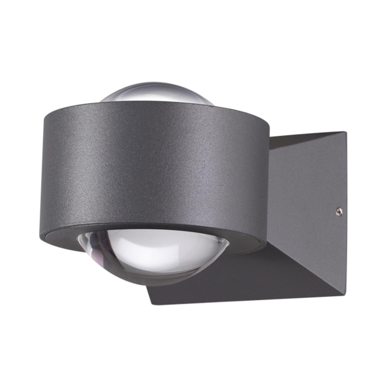 358154 STREET NT19 153 темно-серый Ландшафтный настенный светильник IP54 LED 4000K 6W 85 - 265V CALL