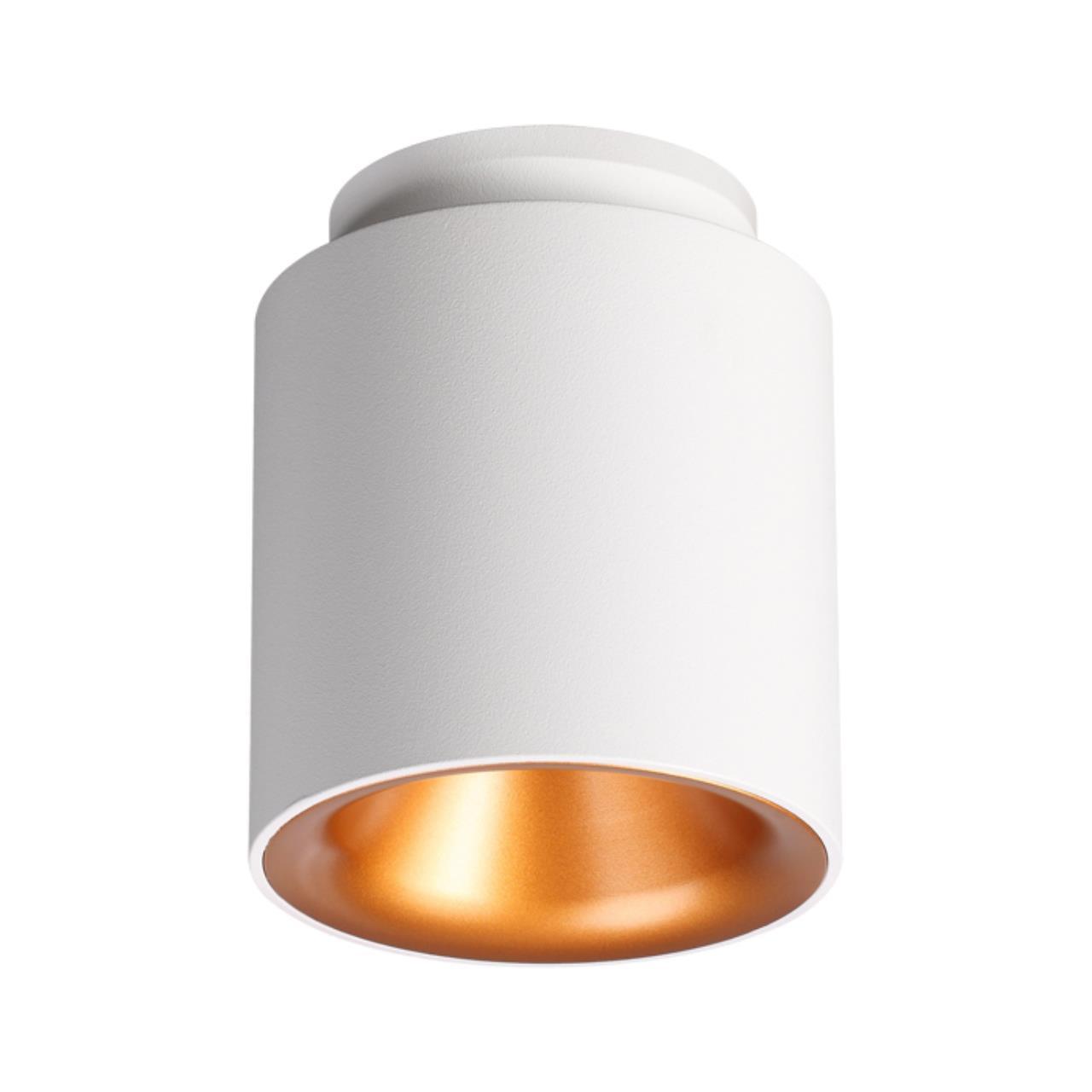 358158 OVER NT19 024 белый/золото Накладной светильник IP20 LED 3000K 9W 220V ORO