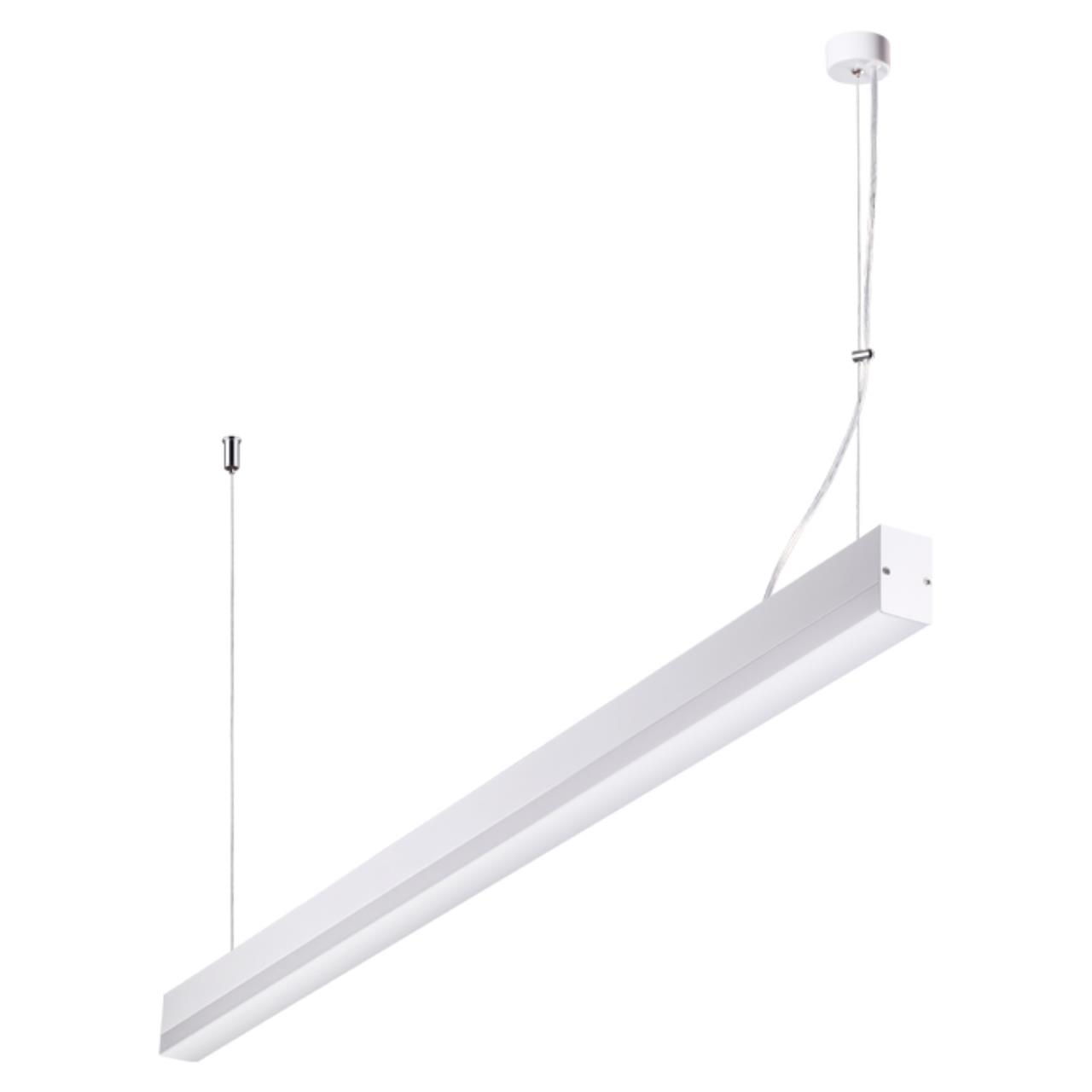 358159 OVER NT19 051 белый Подвесной светильник IP20 LED 4000K 36W 220V ITER