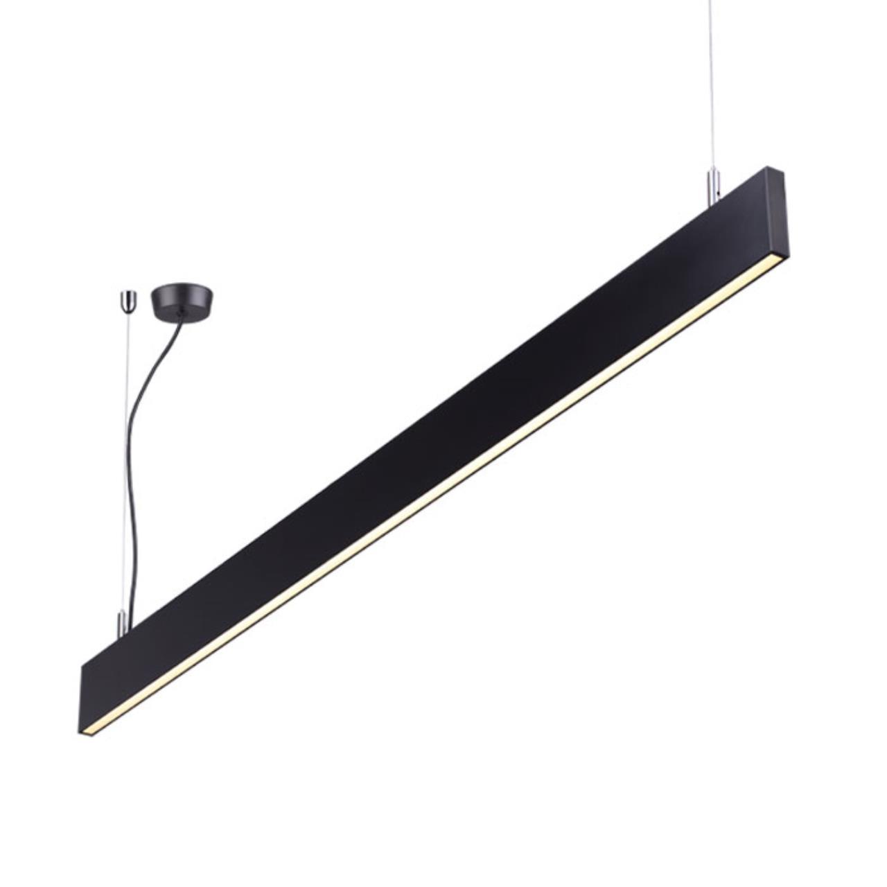 358160 OVER NT19 050 черный Подвесной светильник IP20 LED 4000K 40W 220-240V ITER