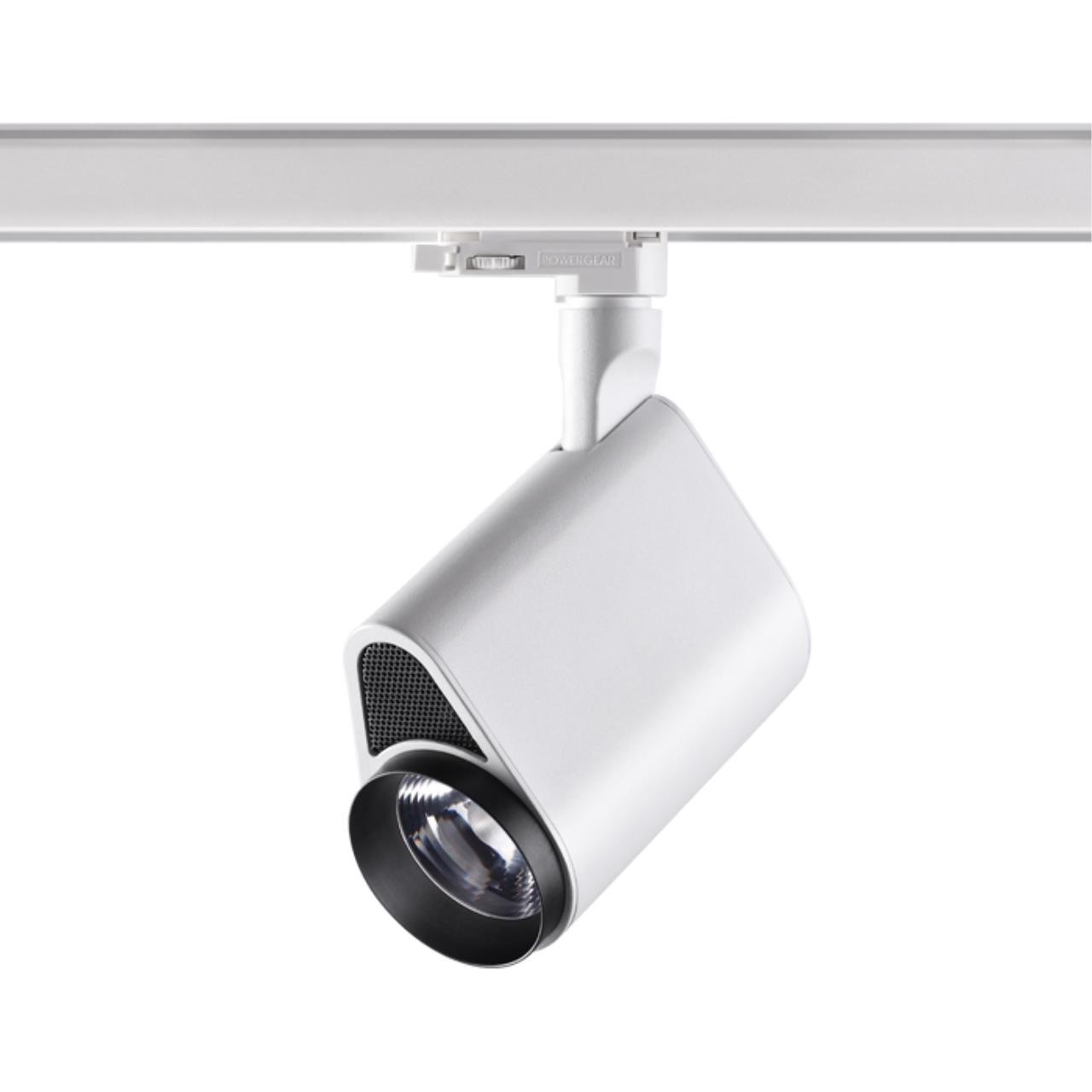 358178 PORT NT19 019 белый/черный Трехфазный трековый светодиодный светильник IP20 LED 4000K 20W