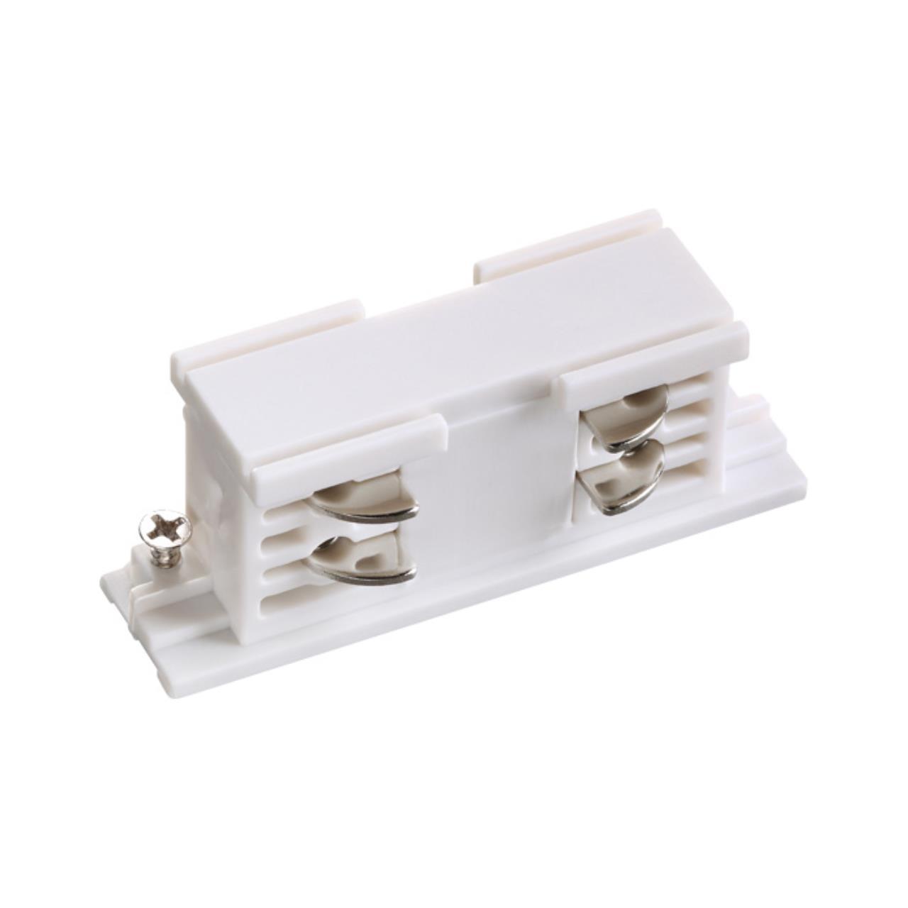 135042 PORT NT19 012 белый Соединитель внутренний с токопроводом для трехфазного шинопровода IP20