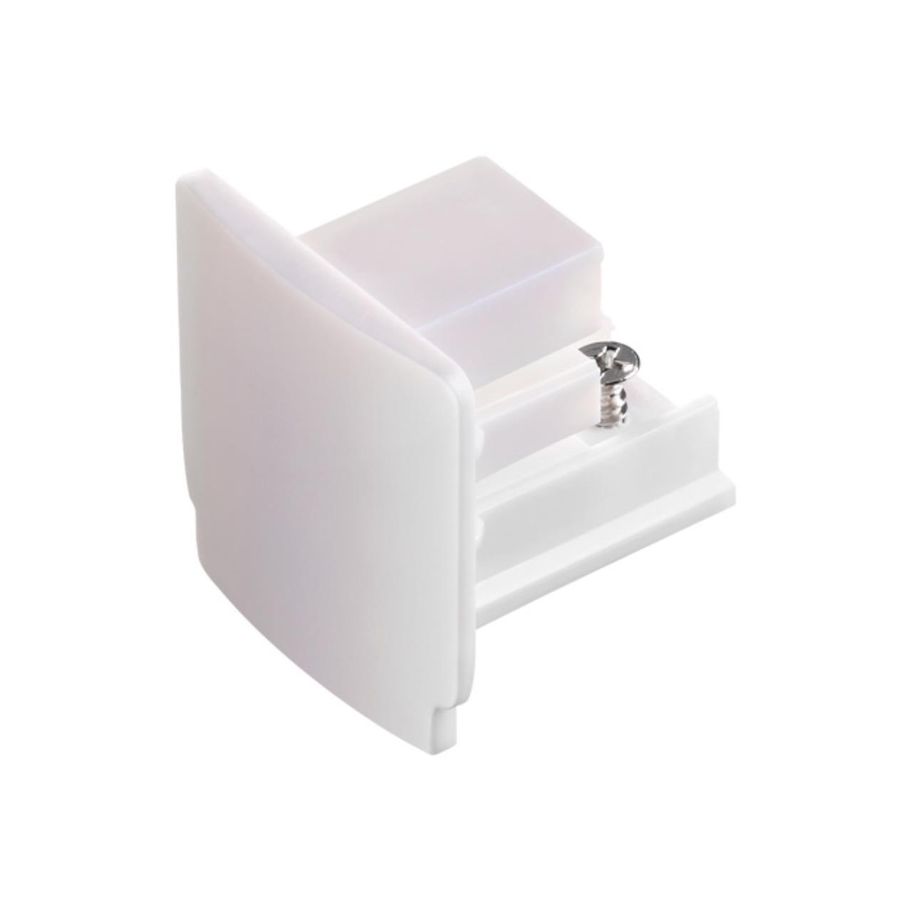 135044 PORT NT19 012 белый Заглушка торцевая для трехфазного шинопровода IP20