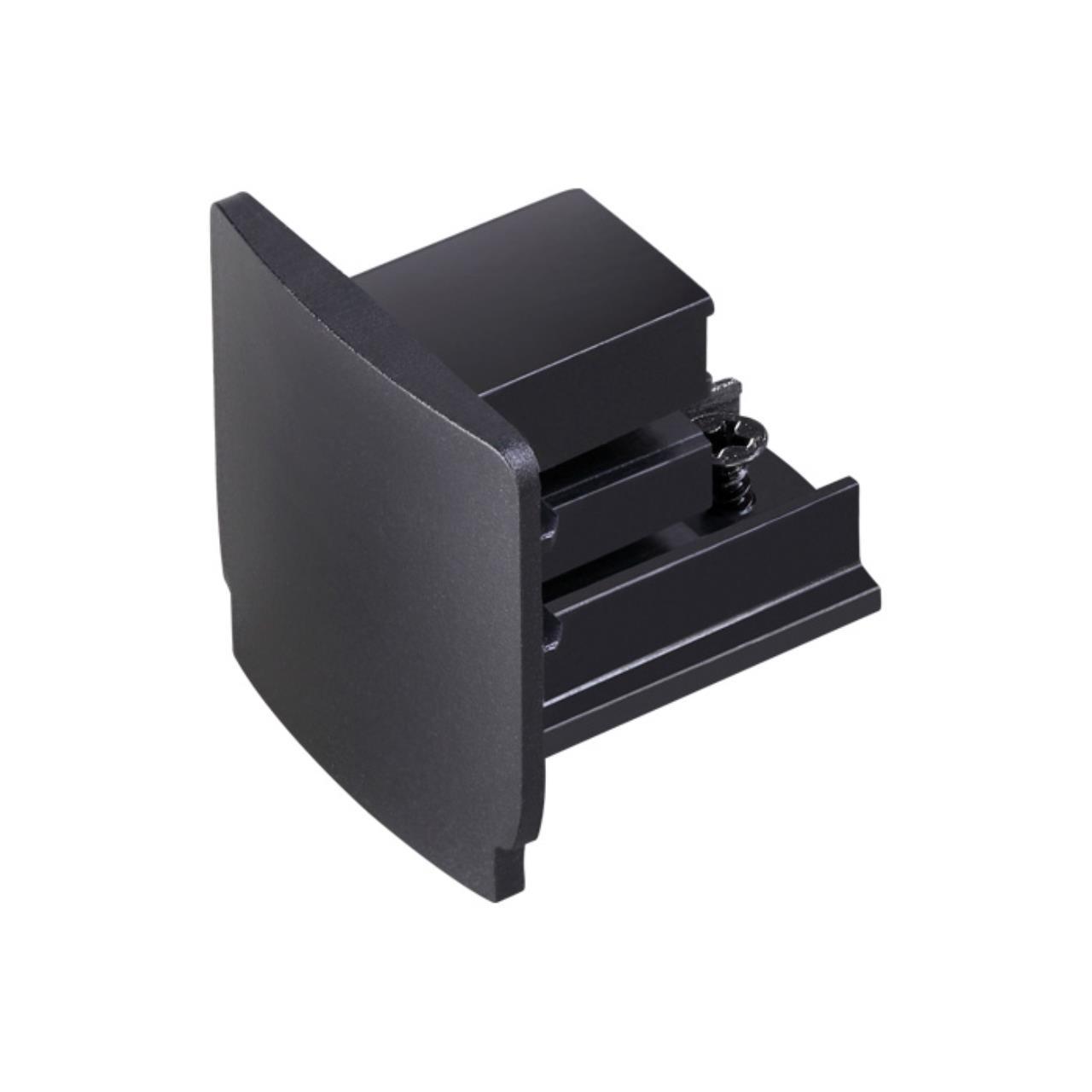 135045 PORT NT19 012 черный Заглушка торцевая для трехфазного шинопровода IP20