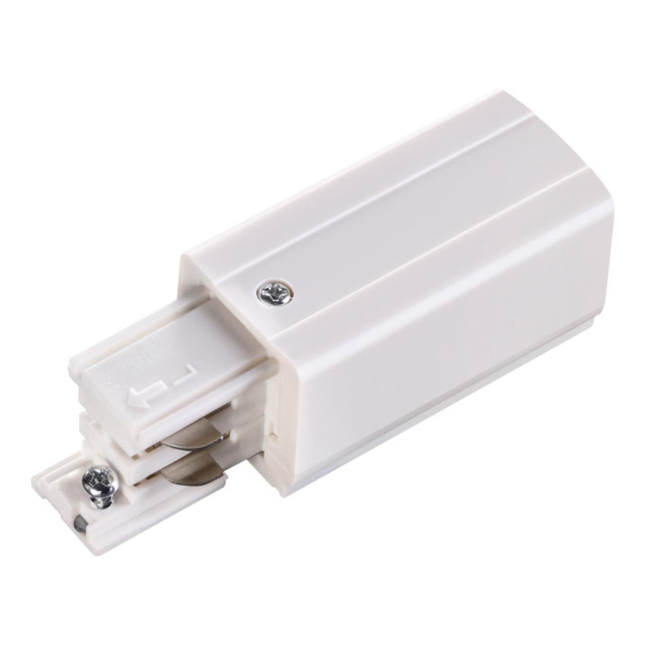 135048 PORT NT19 012 белый Соединитель-токопровод-правый для трехфазного шинопровода IP20 220V