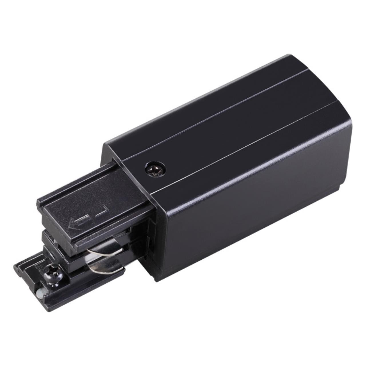 135049 PORT NT19 012 черный Соединитель-токопровод-правый для трехфазного шинопровода IP20 220V