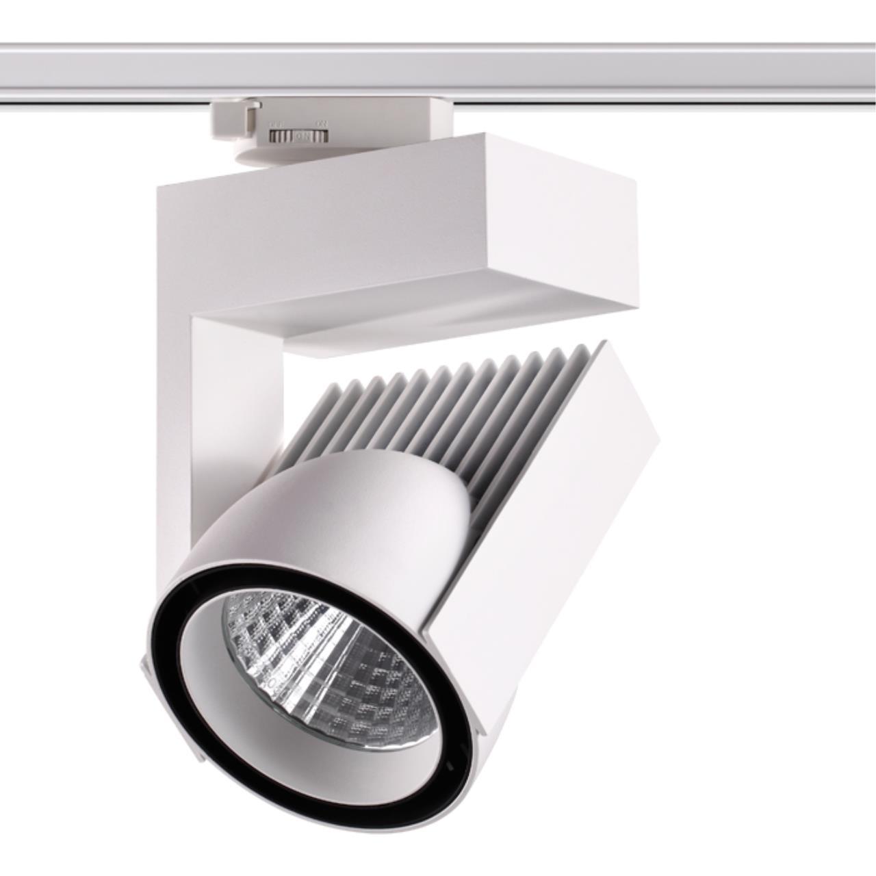 358199 PORT NT19 018 белый Трехфазный трековый светодиодный светильник IP20 LED 4000K 45W 220В HELIX