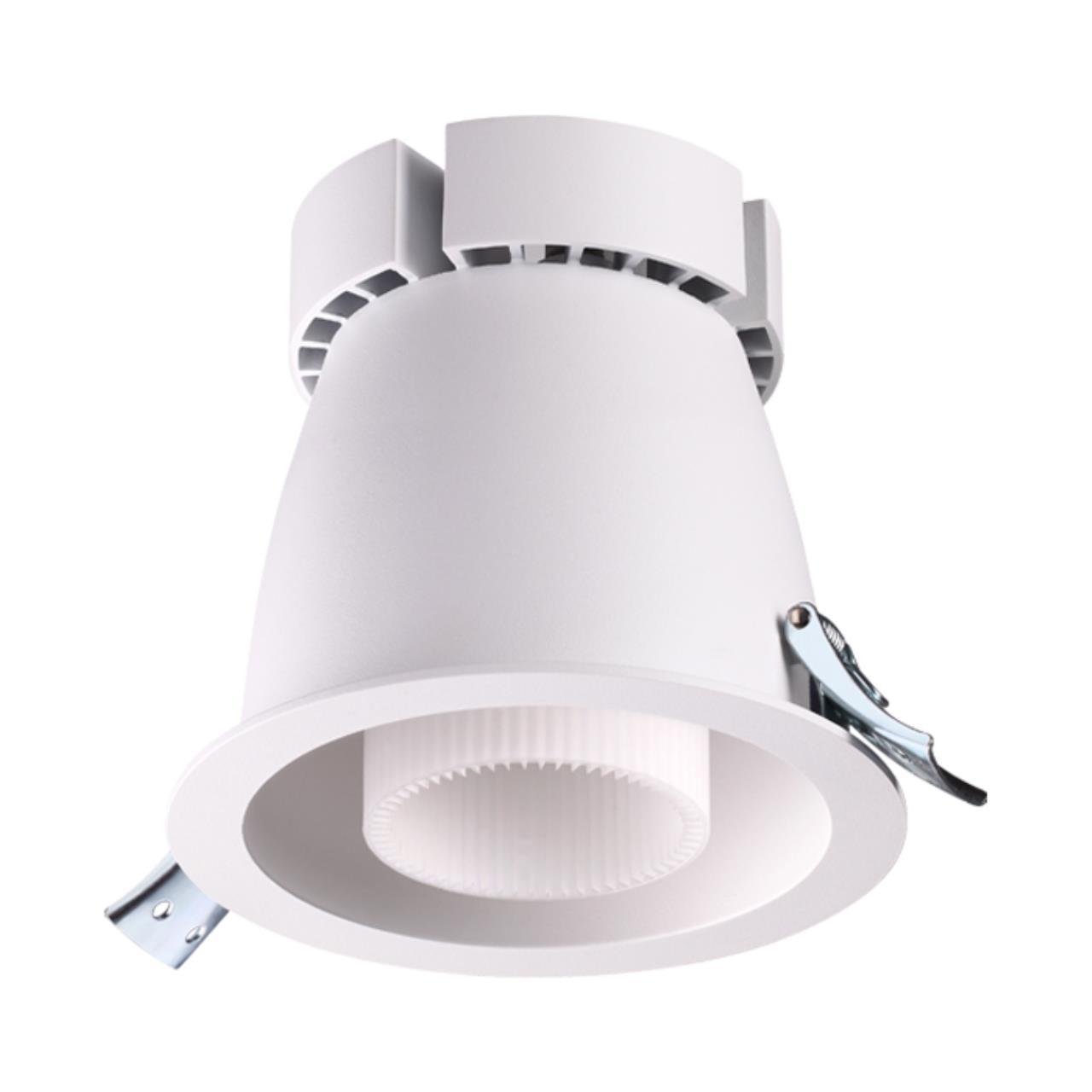 358201 SPOT NT19 092 белый Встраиваемый светильник IP20 LED 4000K 45W 220В VARPAS