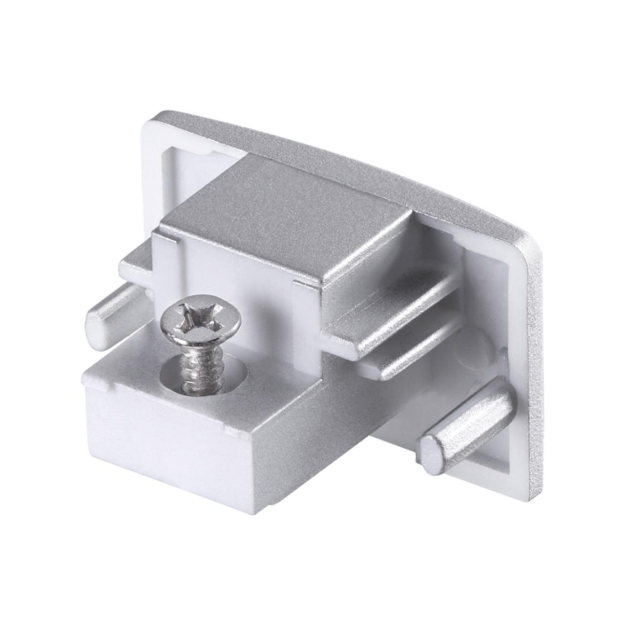 135087 PORT NT19 016 серебро Заглушка торцевая для однофазного шинопровода IP20