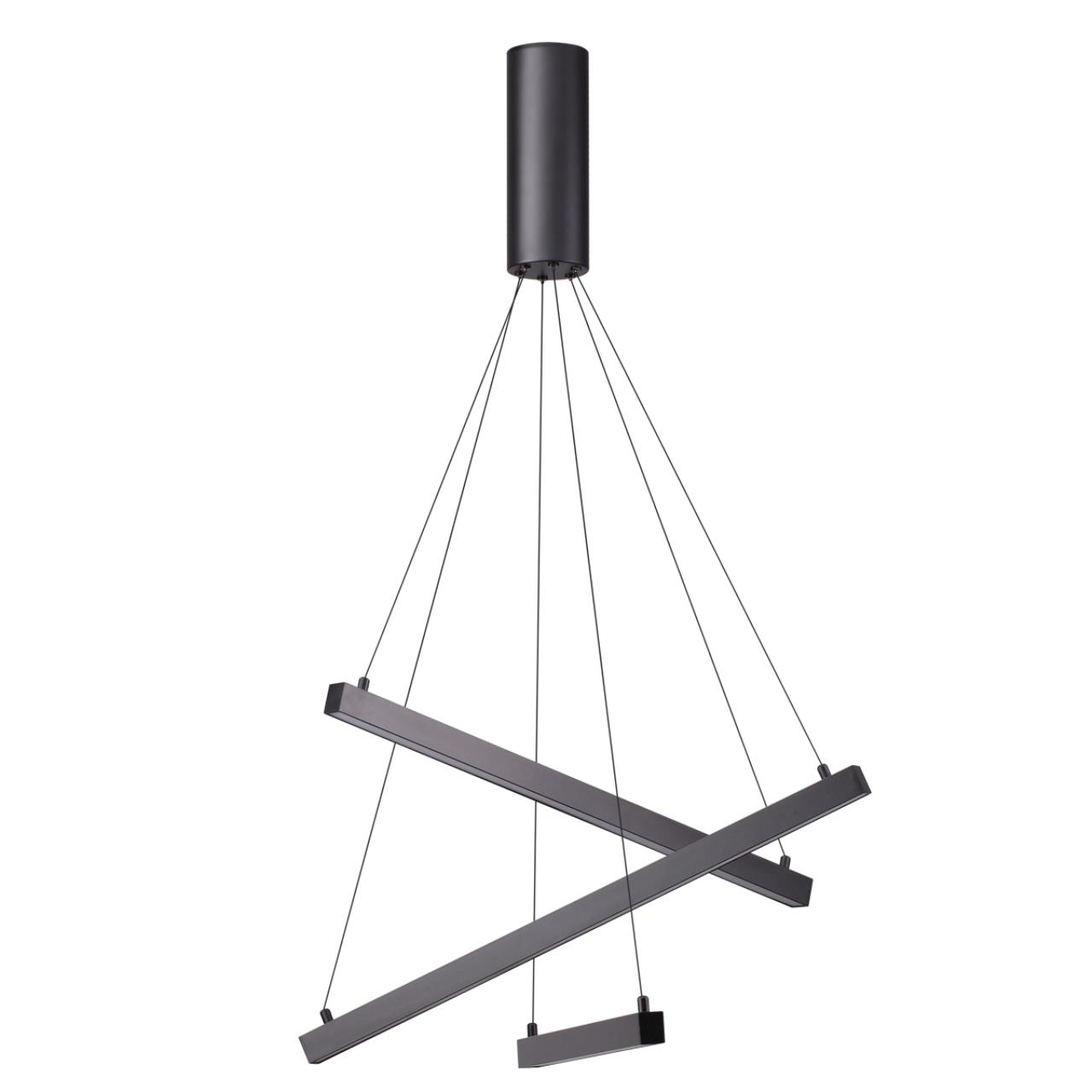 3860/39B L-VISION ODL20 33 черный/металл Подвесной светильник LED 3000K 39W 220V COMETA