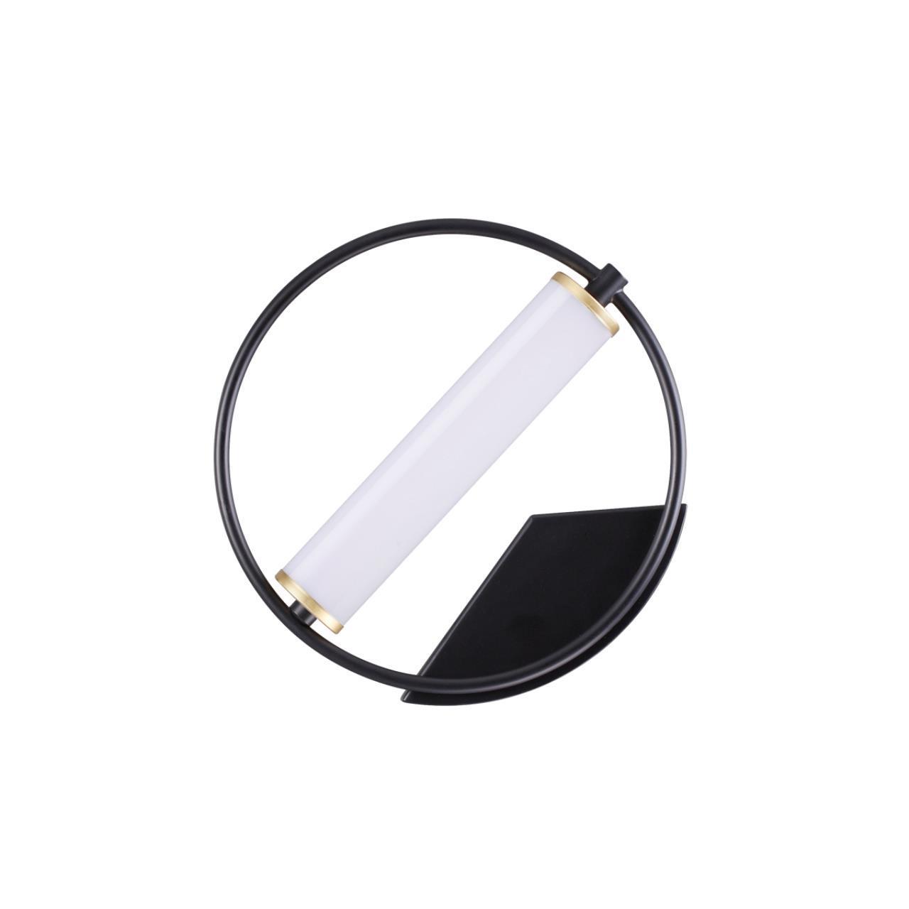 3905/6WL L-VISION ODL20 27 черный/золотистый/металл Настенный светильник LED 4000K 10W 220V BEBETTA