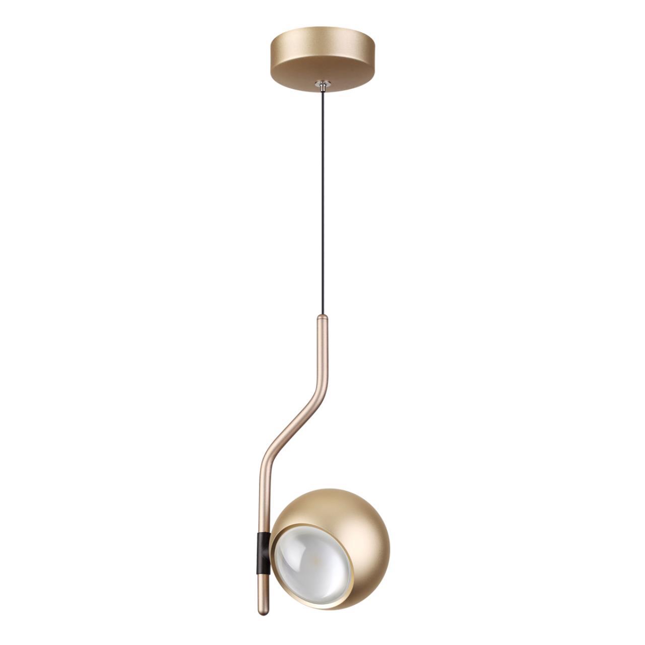 3915/9L L-VISION ODL20 45 золотистый/металл Подвесной светильник LED 4000K 5W+3.5W 220V с сенс. упра
