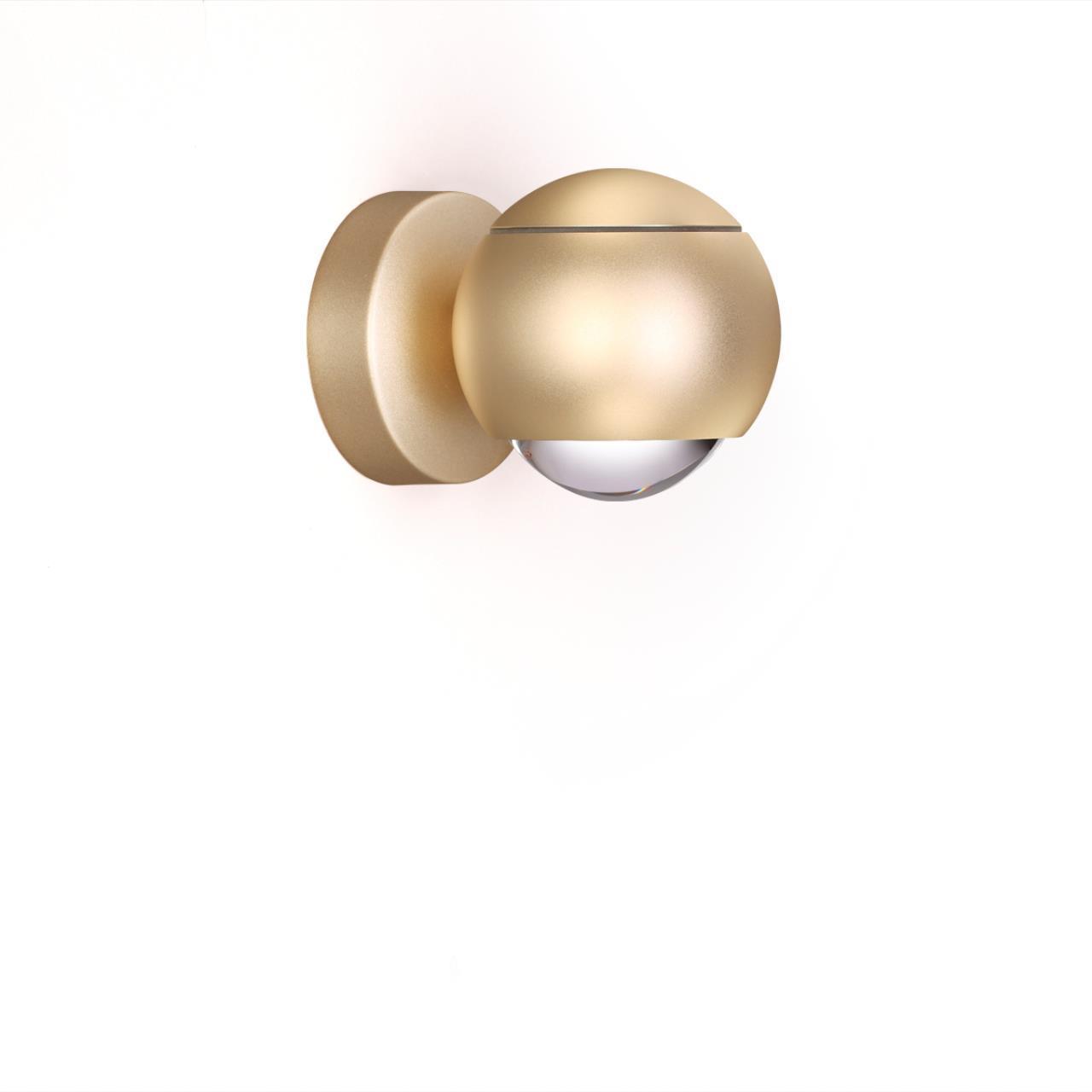 3915/9WL L-VISION ODL20 44 золотист/металл Настенный светильник LED 4000K 5W+3.5W 220V с сенс управл