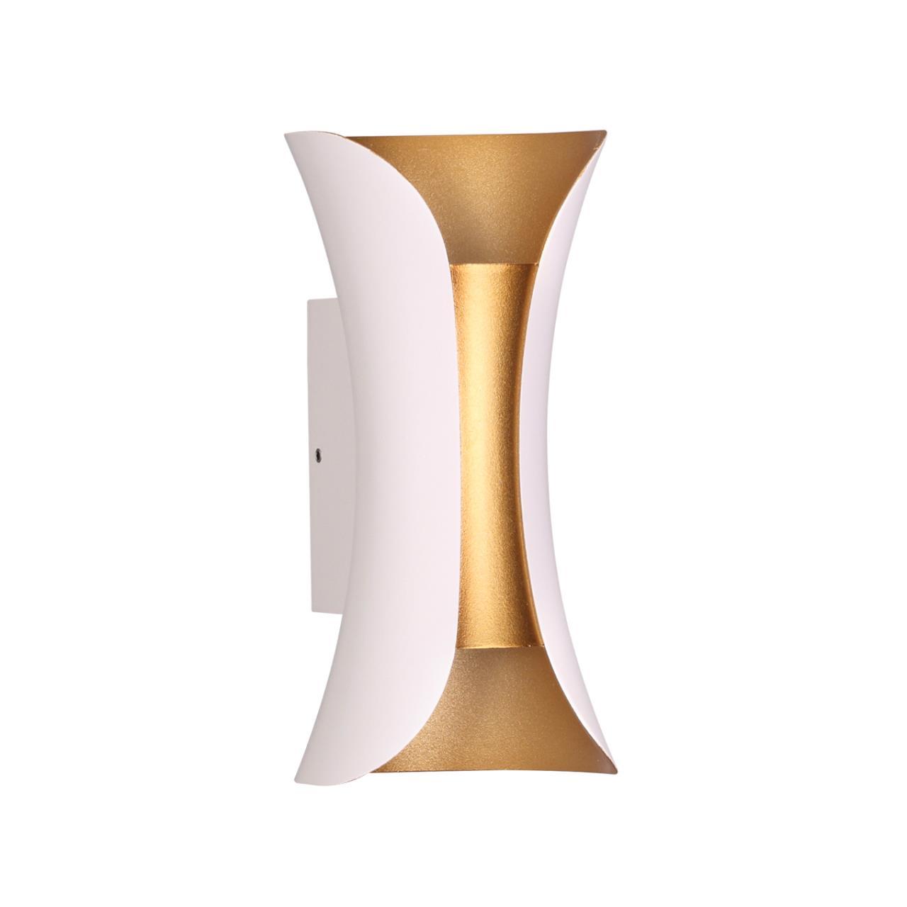 3886/6WG HIGHTECH ODL20 177 белый/золотистый/металл Настенный светильник LED 4000K 6W 220V IP54 KRIS