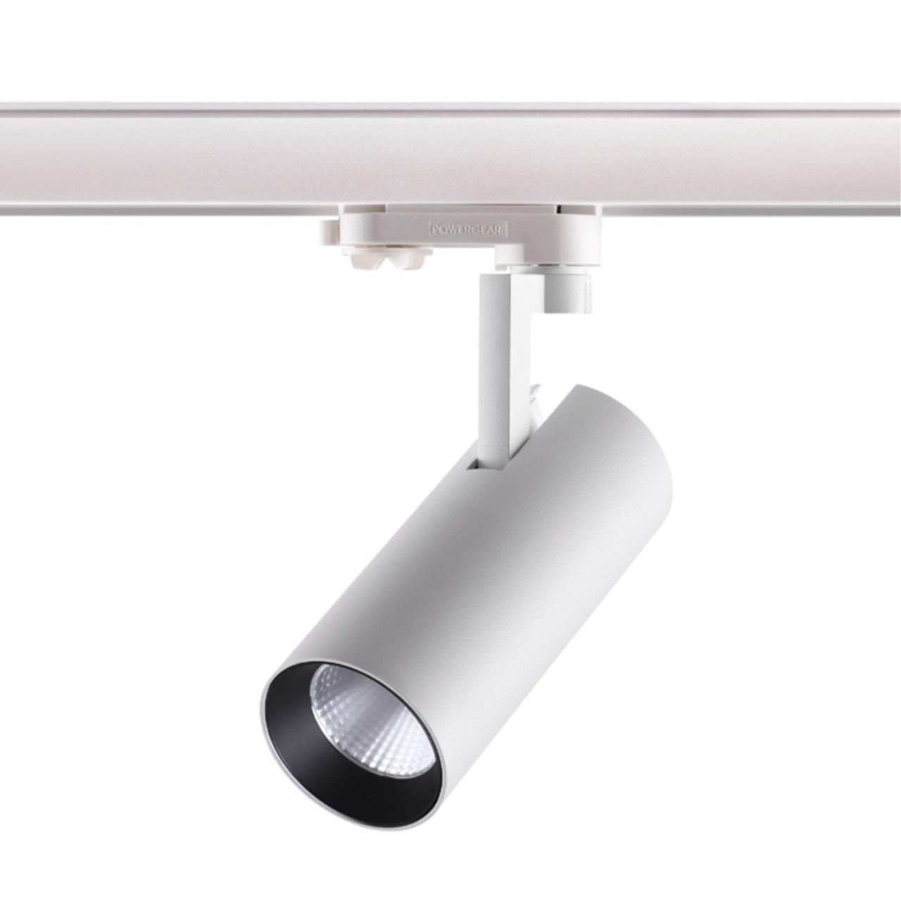 358255 PORT NT19 018 белый Трехфазный трековый светодиодный светильник IP20 LED 20W 220-240V HELIX