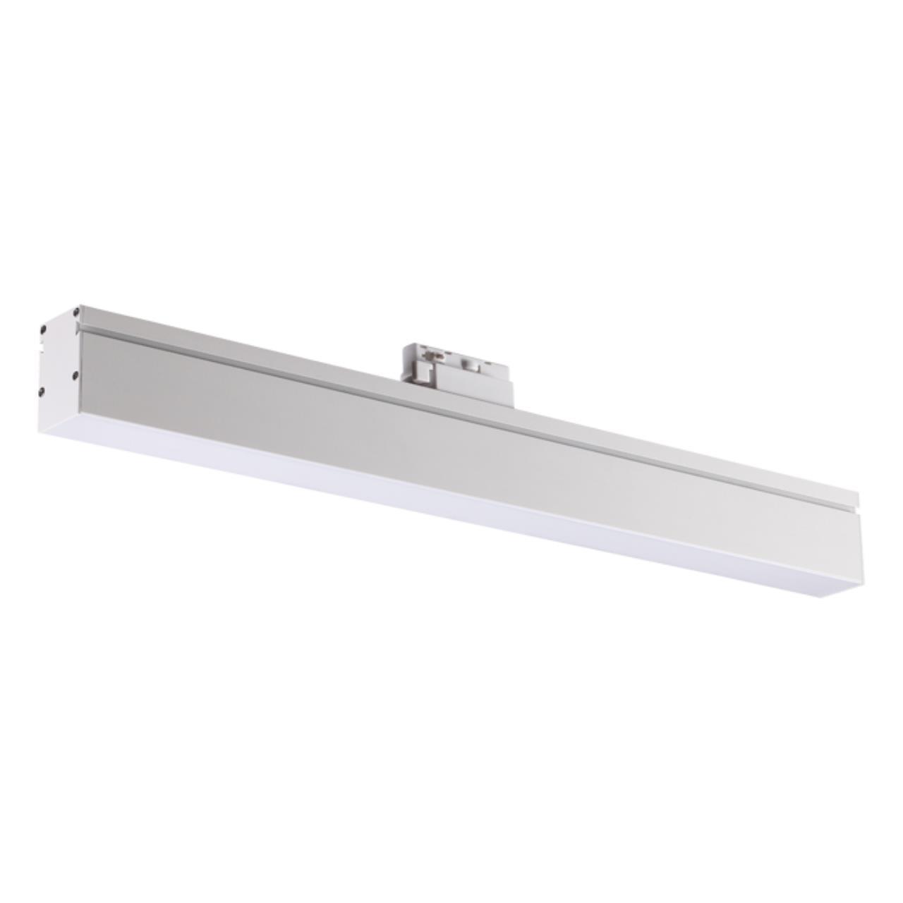358185 PORT NT19 051 белый Однофазный трековый светодиодный светильник IP20 4000K 18W 100-240V ITER