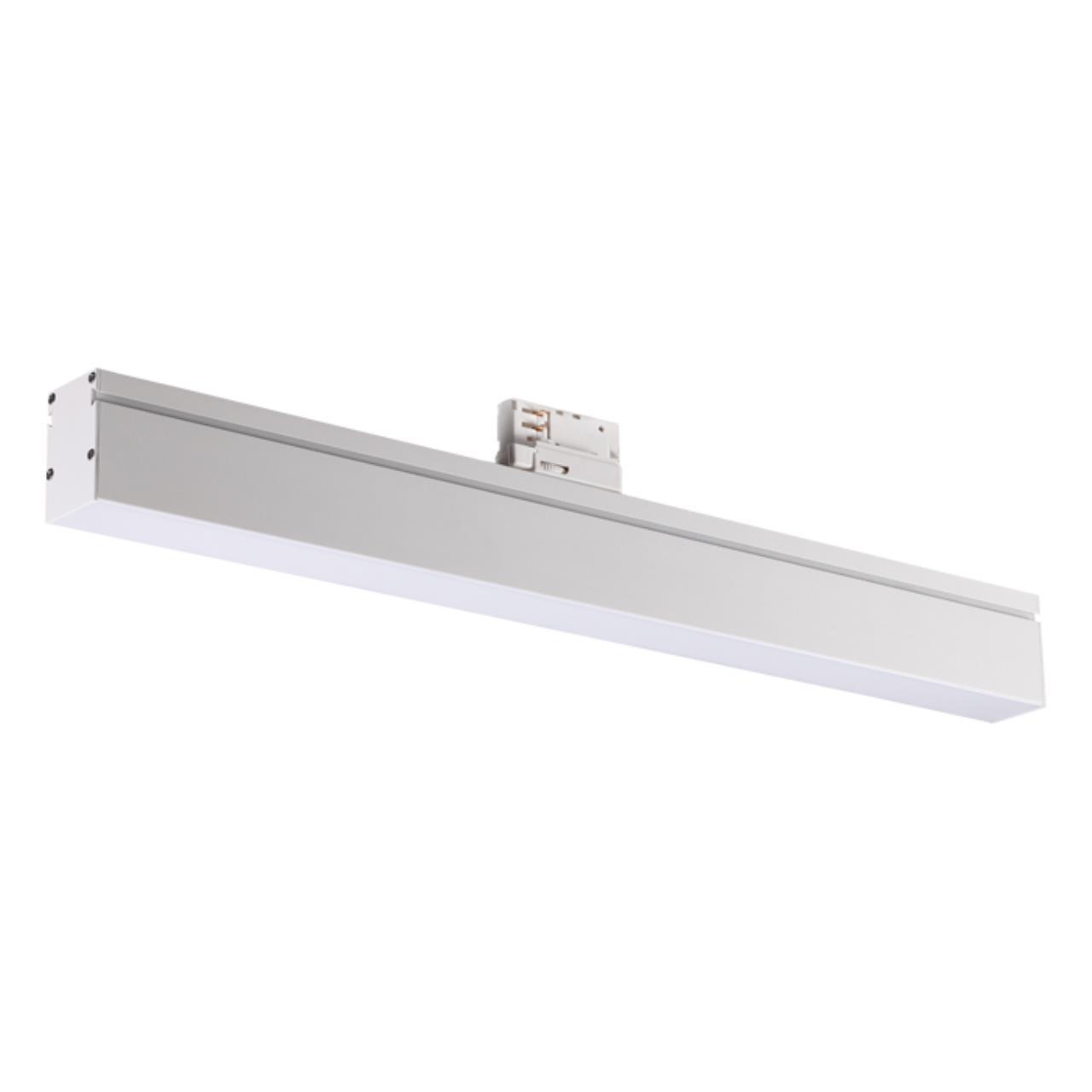 358187 PORT NT19 021 белый Трехфазный трековый светодиодный светильник IP20 4000K 18W 100-240V ITER