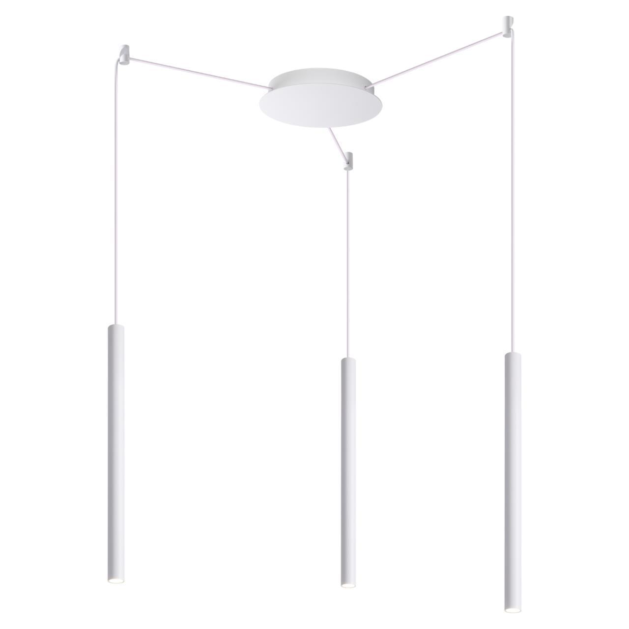 358265 OVER NT19 022 белый Накладной светильник IP20 LED 3*8W 220-240V WEB