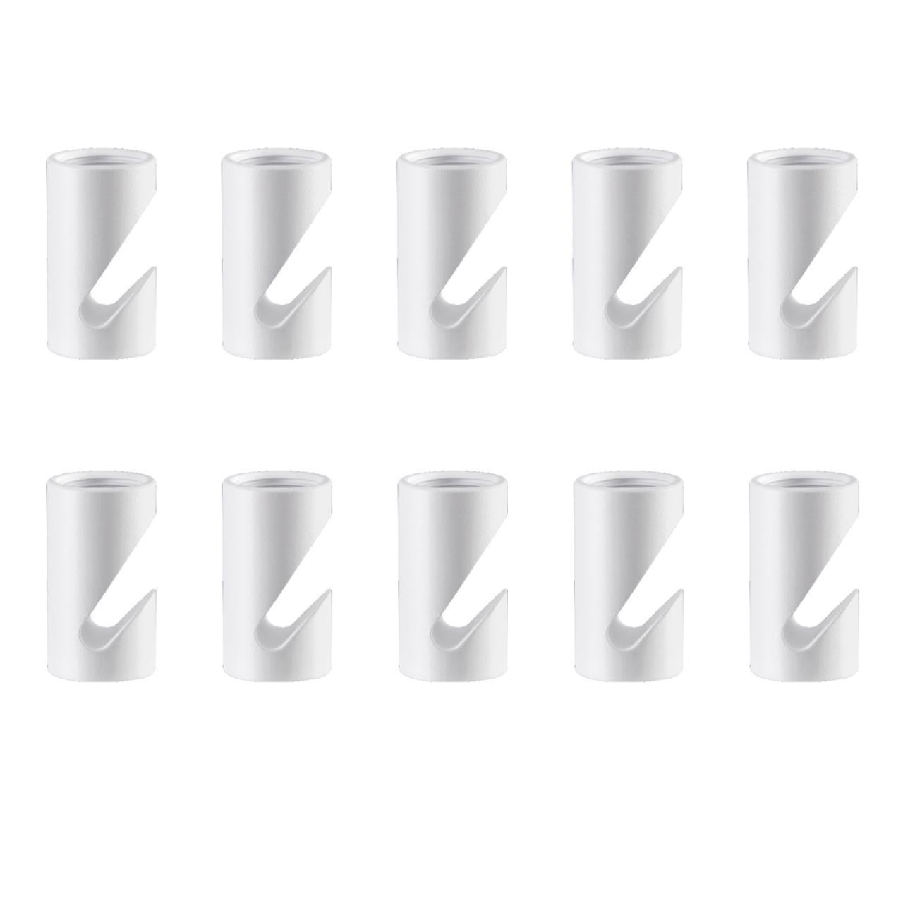 358266 OVER NT19 022 белый Держатель декоративн. для светильников (арт. 358264-358265) 10шт в компл.