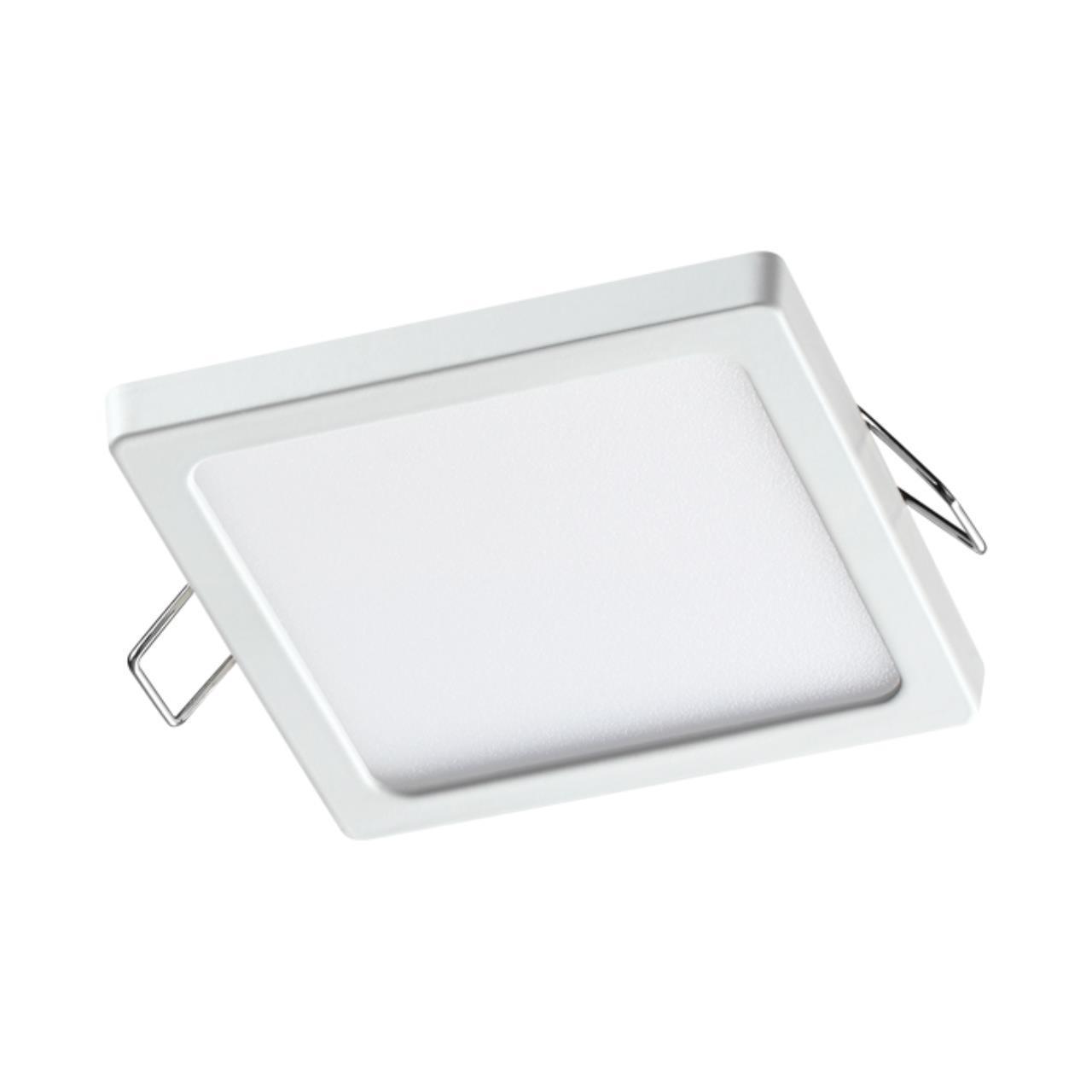 358271 SPOT NT19 000 белый Встраиваемый светильник IP20 LED 4000K 8W 85-265V STEA