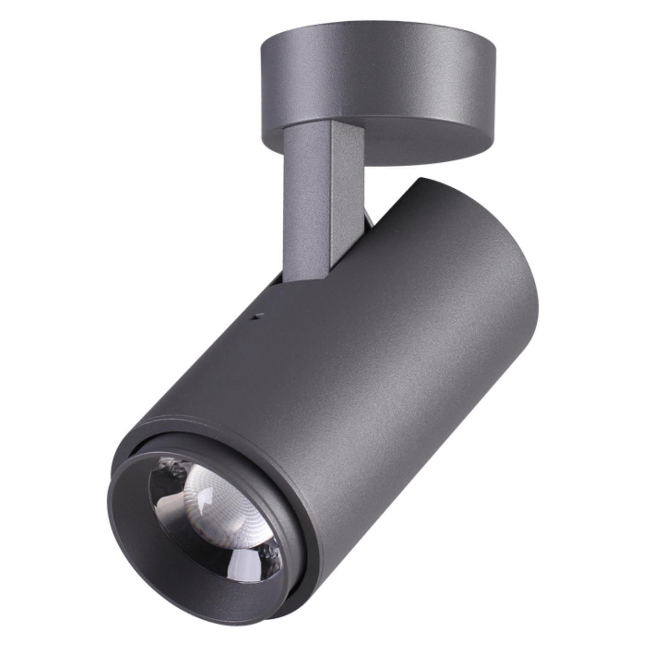 358289 STREET NT19 000 темно-серый Ландшафтный светильник IP54 LED 4000K 9W 220-240V KAIMAS