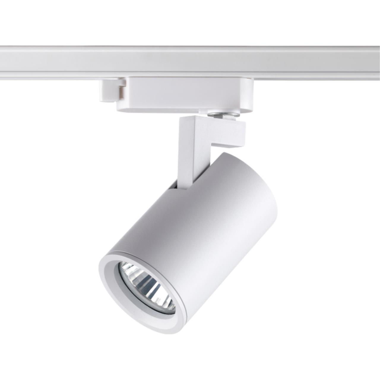 370646 PORT NT19 000 белый Светильник однофазный трековый IP20 GU10 50W 220V GUSTO