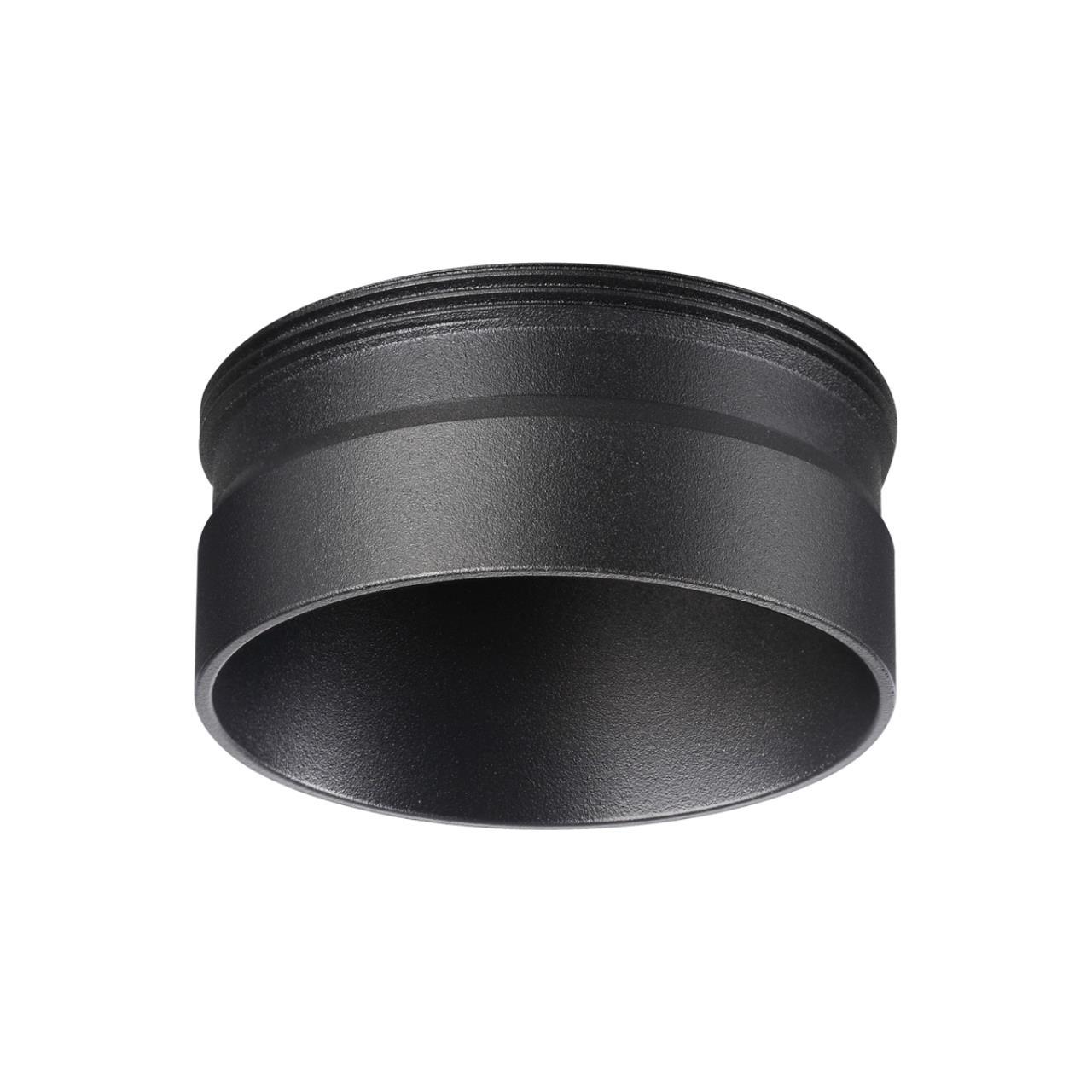 370707 KONST NT19 000 черный Декоративное кольцо для арт. 370681-370693 IP20 UNITE