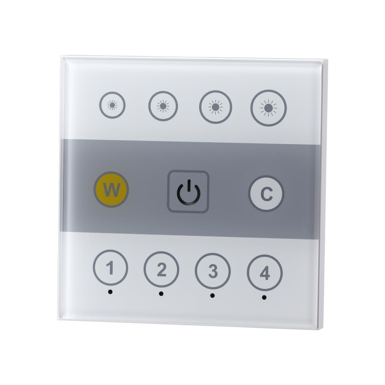 358340 PULT NT19 000 белый Настенная панель ДУ (2.4G) IP20 90-265V GESTION