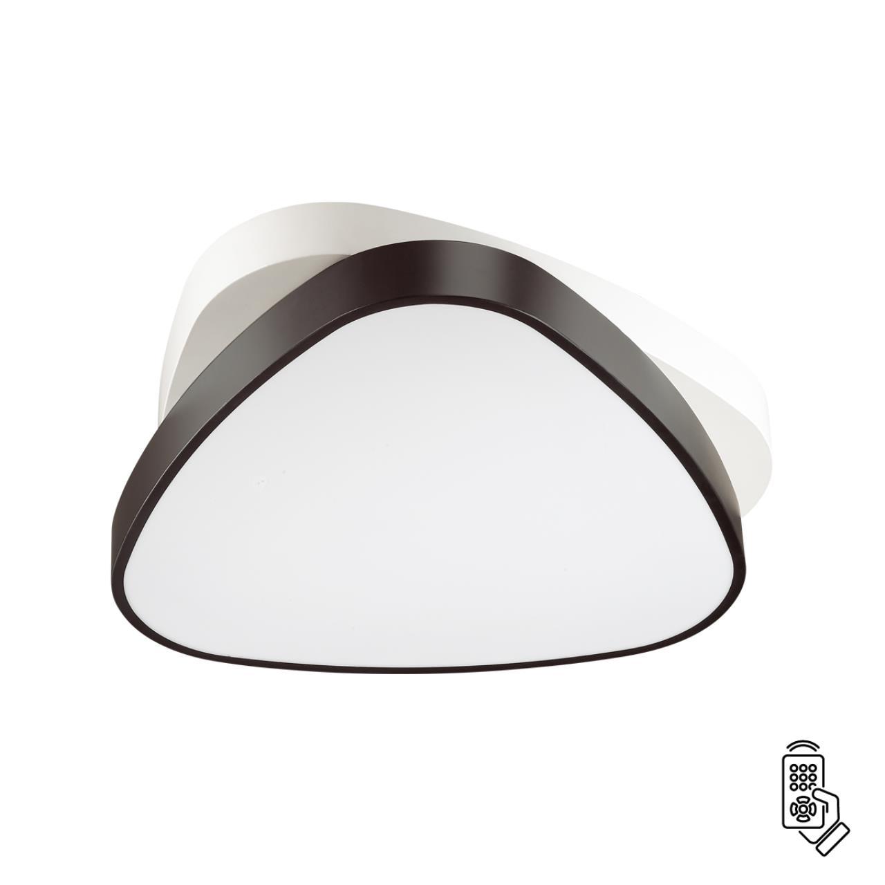 4510/72CL LEDIO LN20 белый, черный Люстра потолочная LED 72W 220V AGATHA
