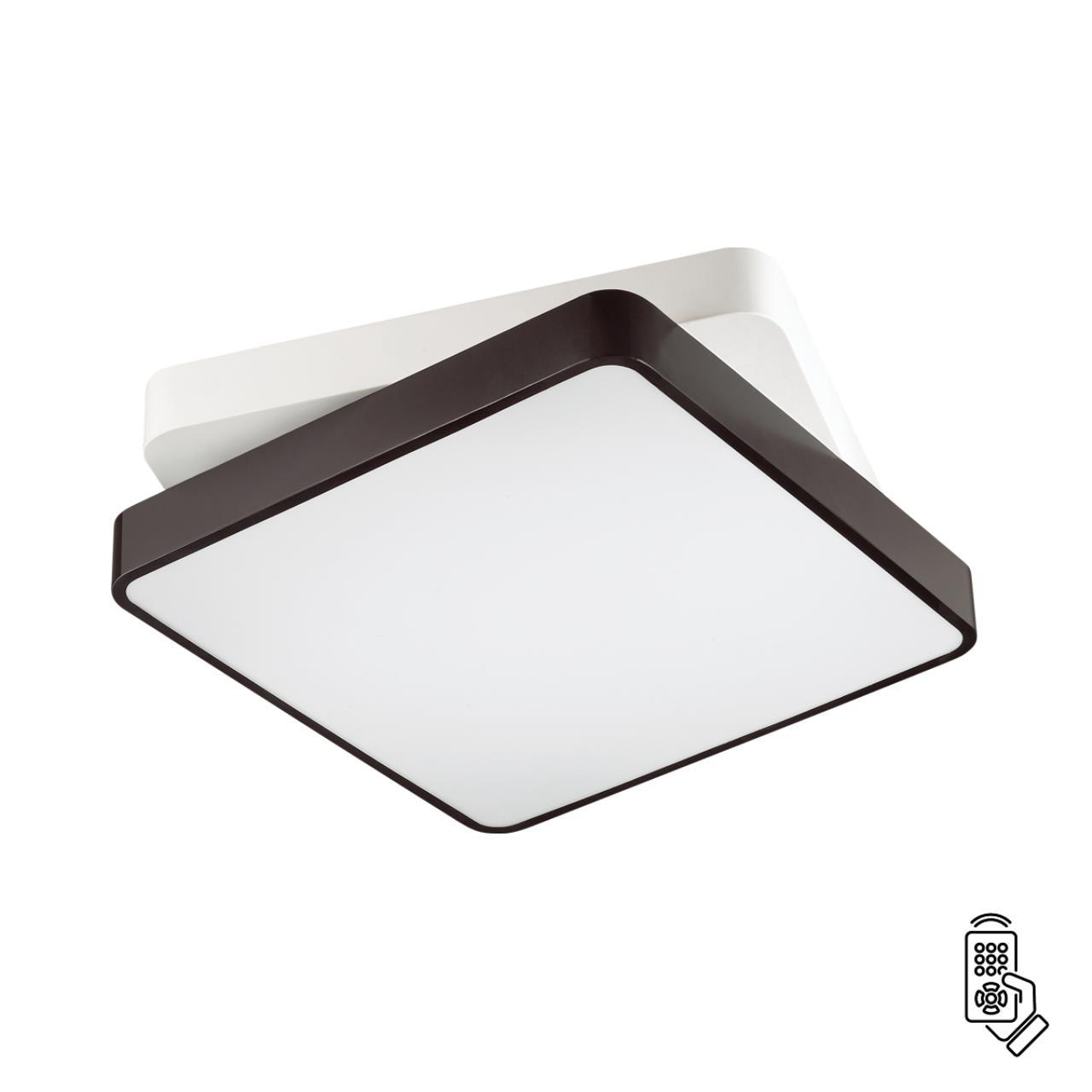 4511/72CL LEDIO LN20 белый, черный Люстра потолочная LED 72W 220V AGATHA