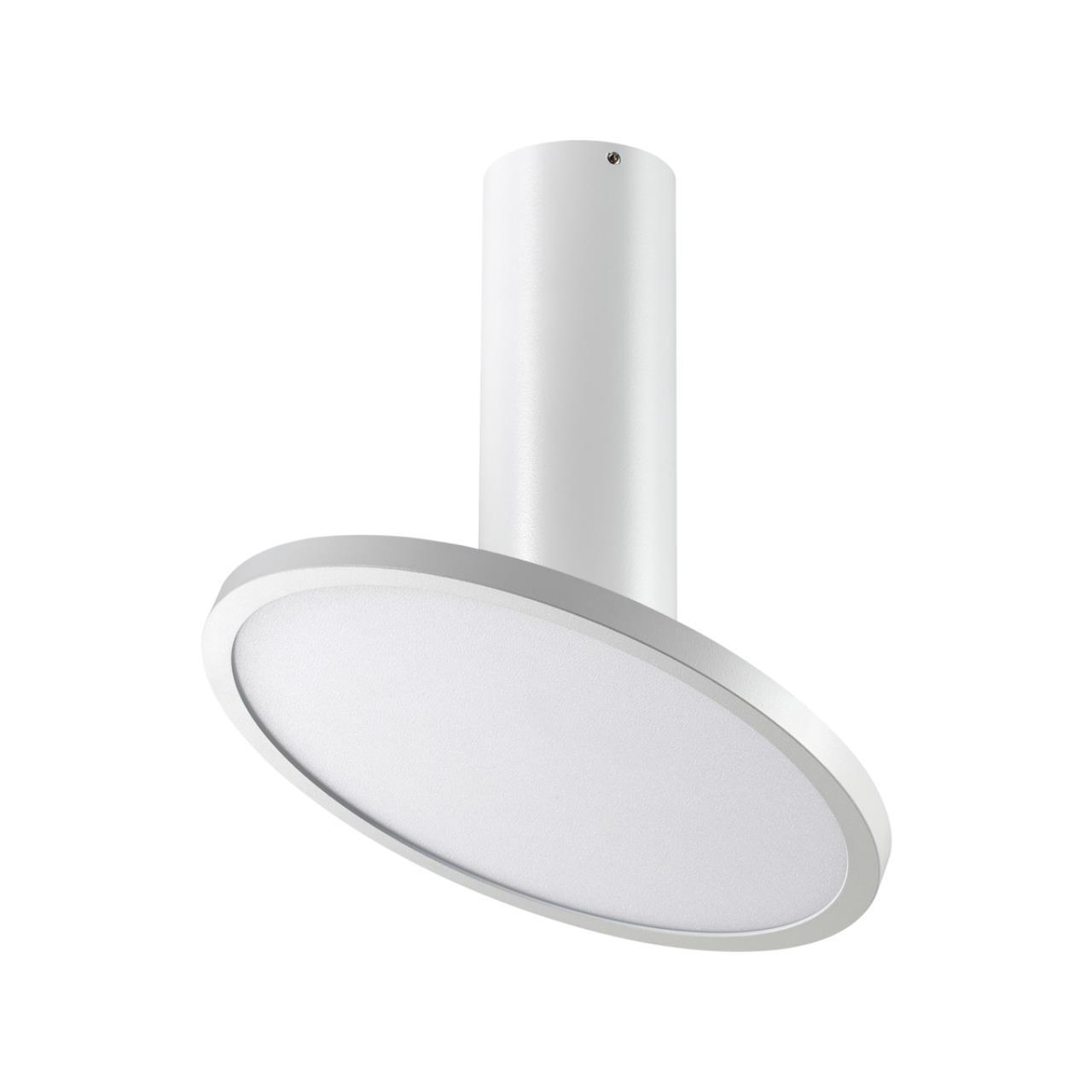 358347 OVER NT20 000 белый Светильник накладной IP20 LED 4000K 18W 85-265V HAT