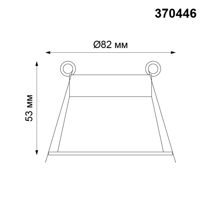 370446 SPOT NT19 130 белый Встраиваемый светильник IP20 GU10 50W 220V BUTT