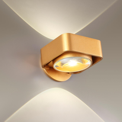 3889/6WG HIGHTECH ODL20 122 золотистый/металл Настенный поворотный светильник LED 4000K 6W 220V PACO