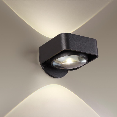 3889/6WB HIGHTECH ODL20 123 черный/металл Настенный поворотный светильник LED 4000K 6W 220V PACO